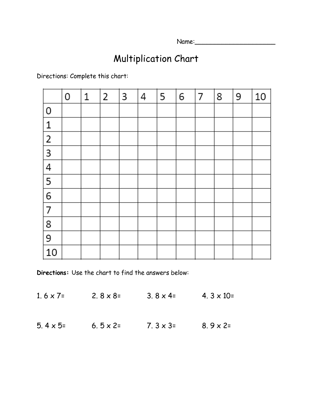 11 Best Images Of Worksheets That You Can Print