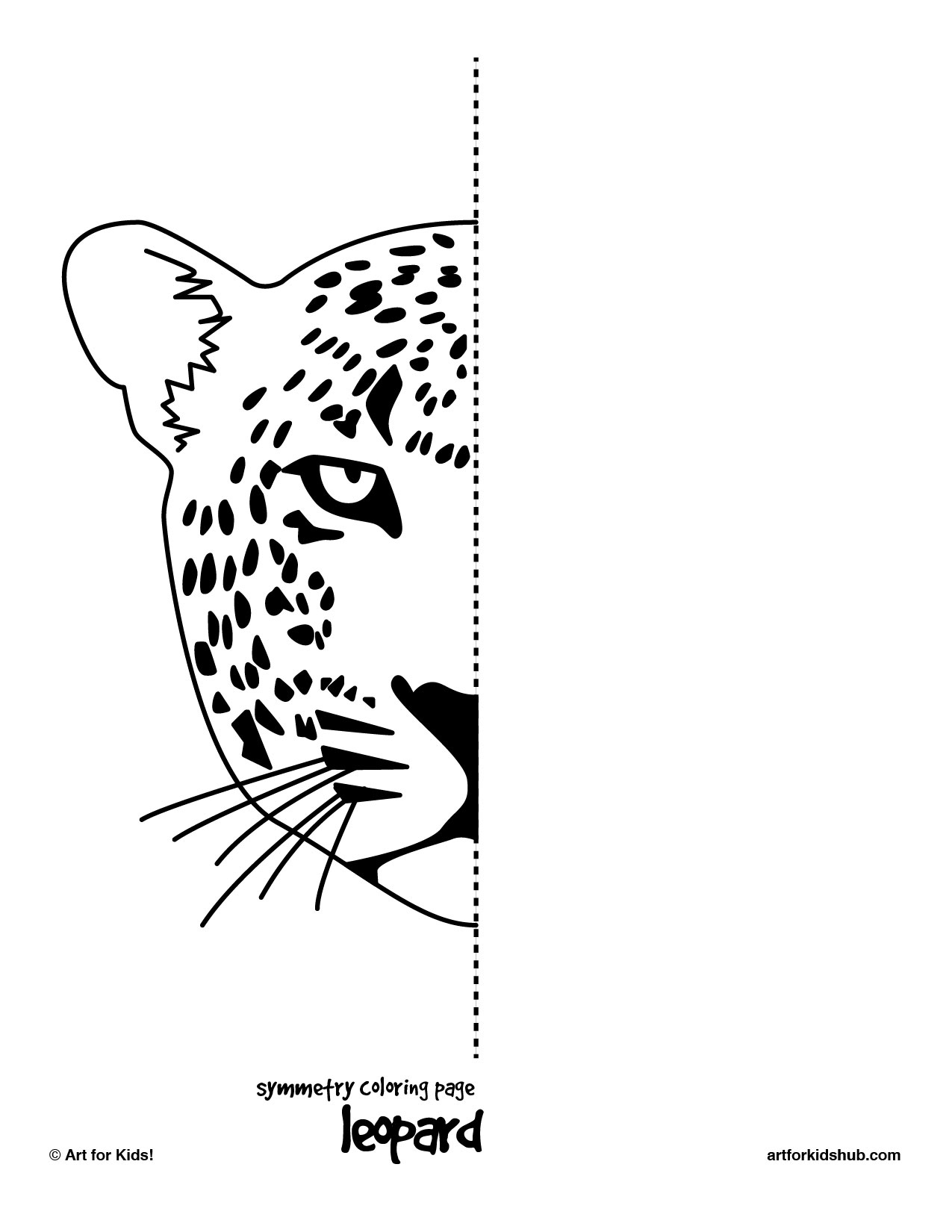 12 Best Images Of Half Face Art Worksheet