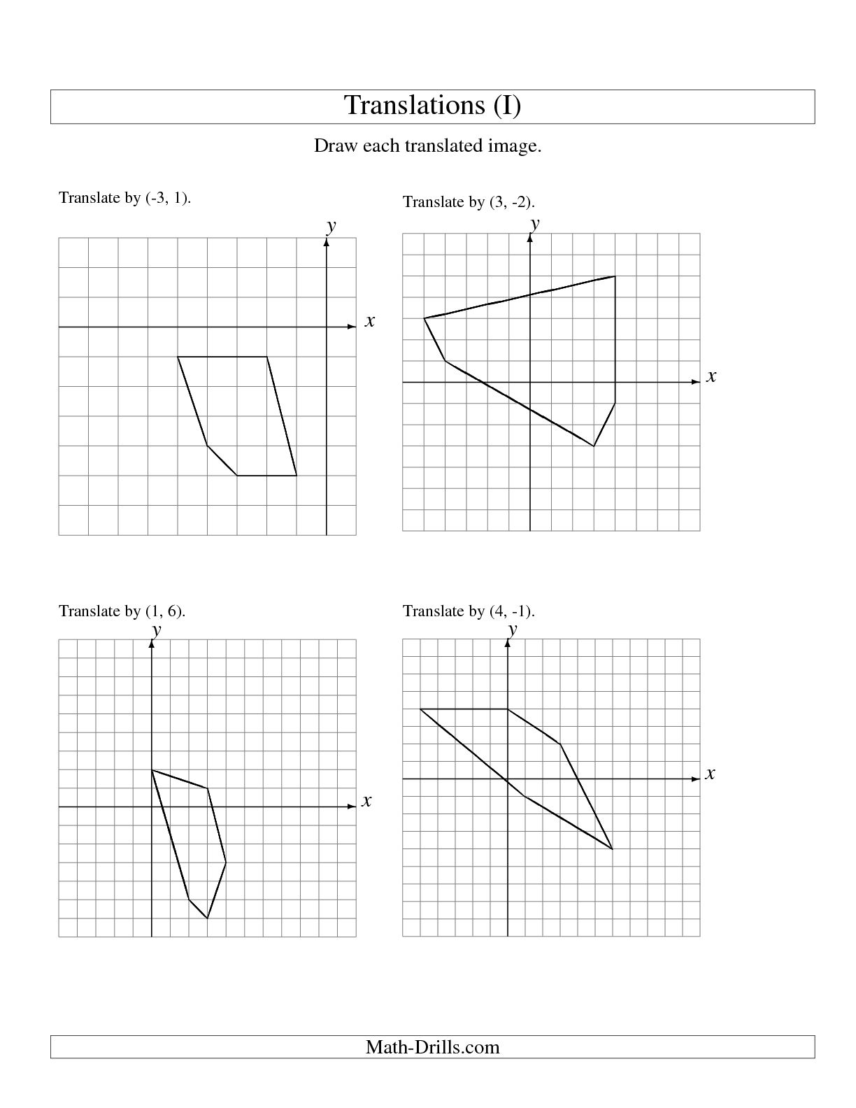 9 Best Images Of Plane Shapes Worksheet Vertices