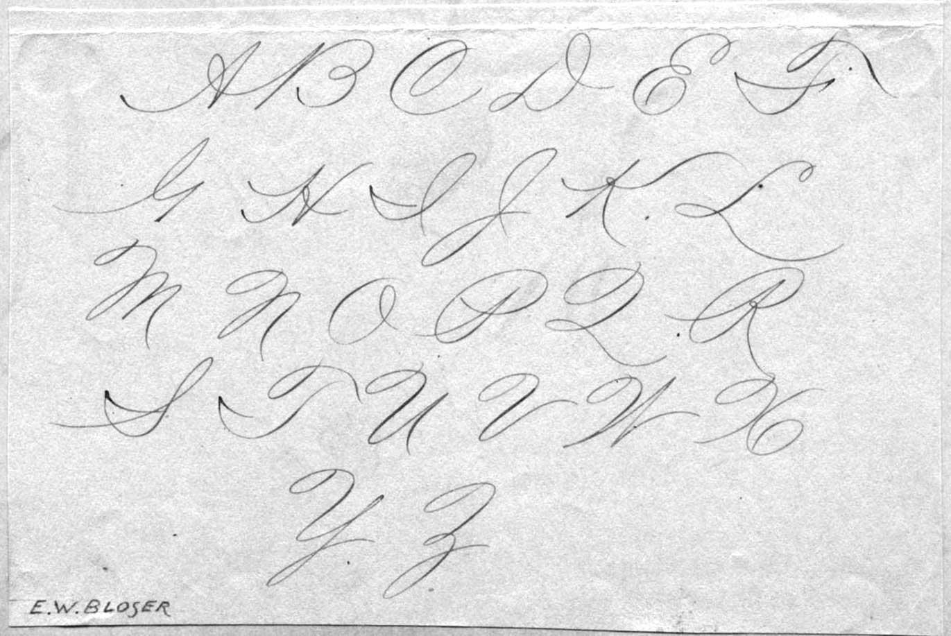14 Best Images Of Cursive Alphabet Practice Worksheets