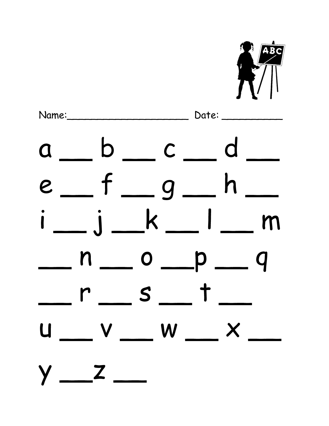 9 Best Images Of Handwriting Lower Case Letters Worksheets