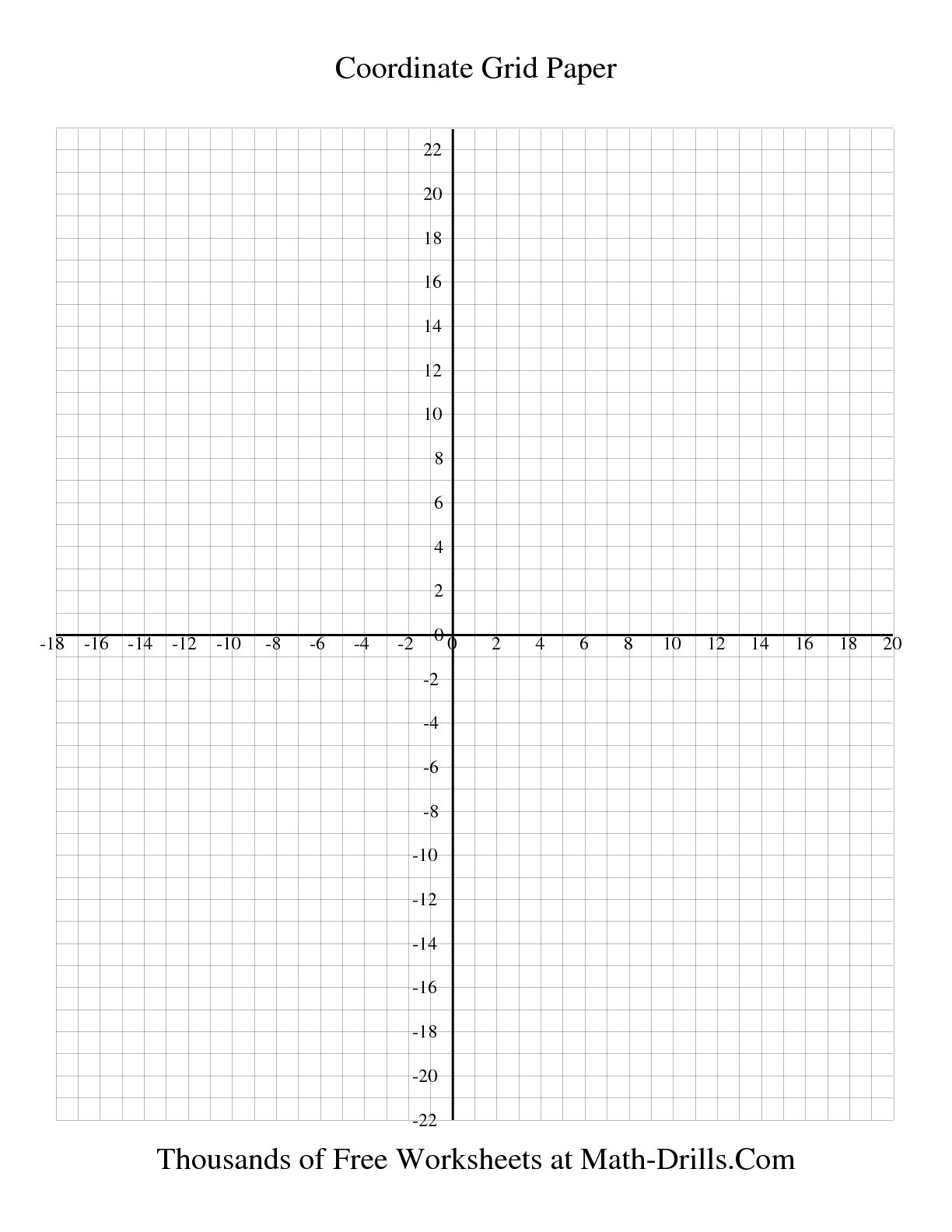 10 Best Images Of Coordinate Math Worksheets Printable