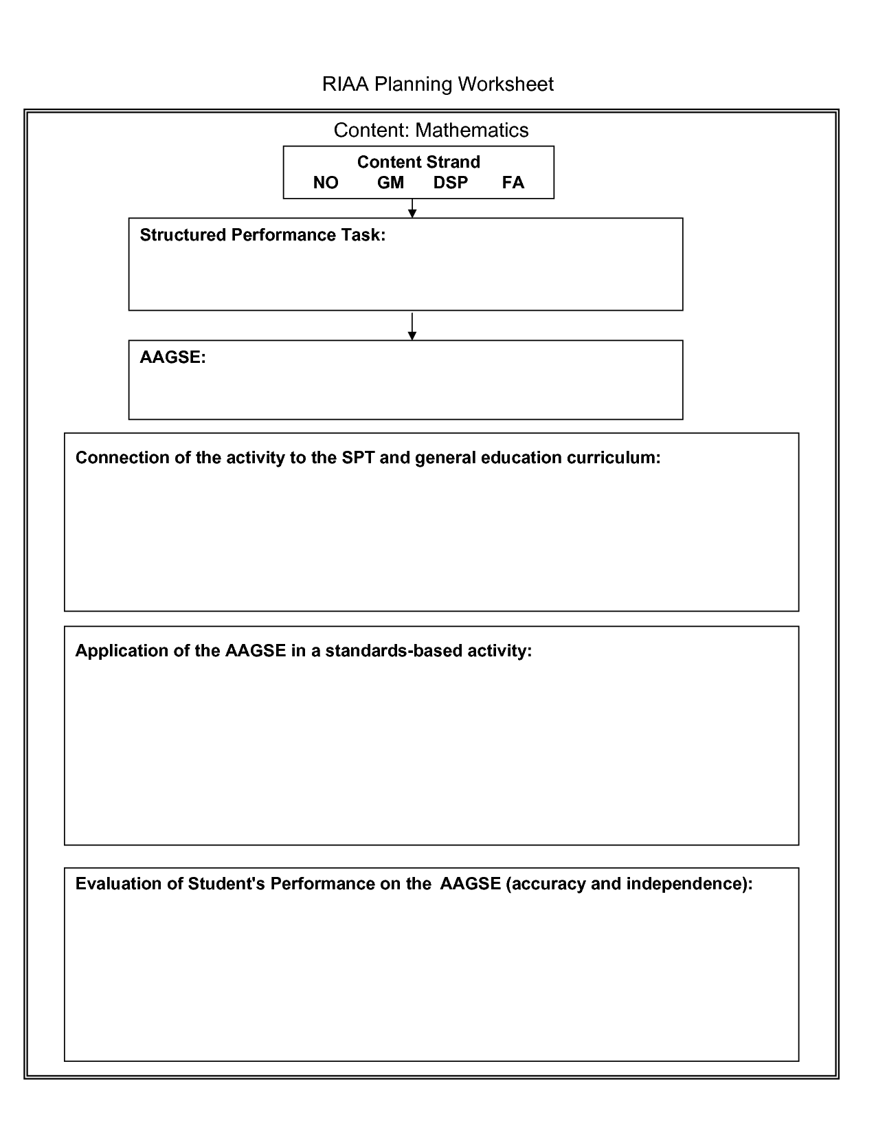 16 Best Images Of Financial Worksheet Template