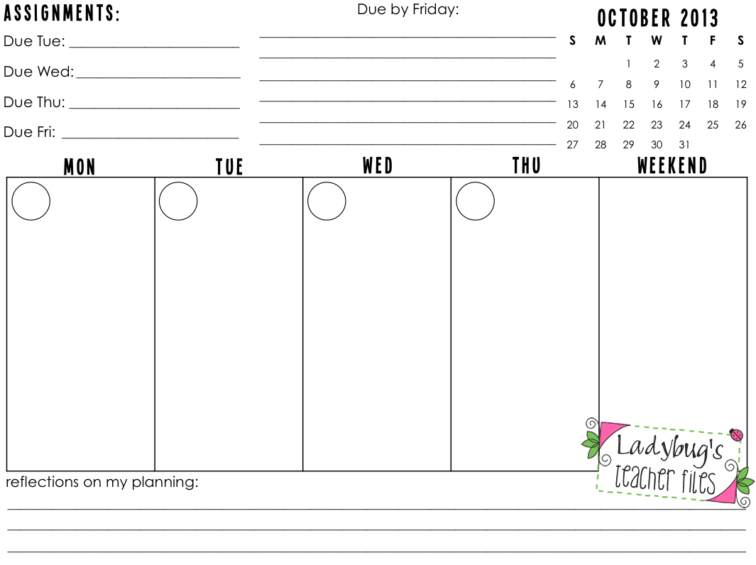 11 Best Images Of 4 Year Planning Worksheet