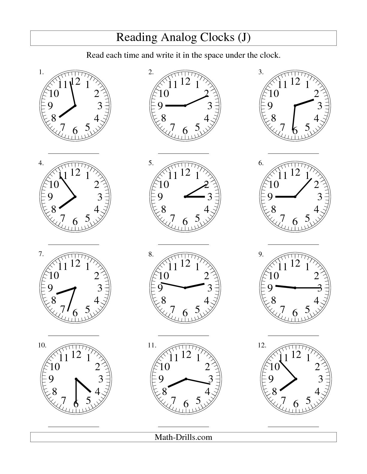 9 Best Images Of Math Minutes Answer Worksheets