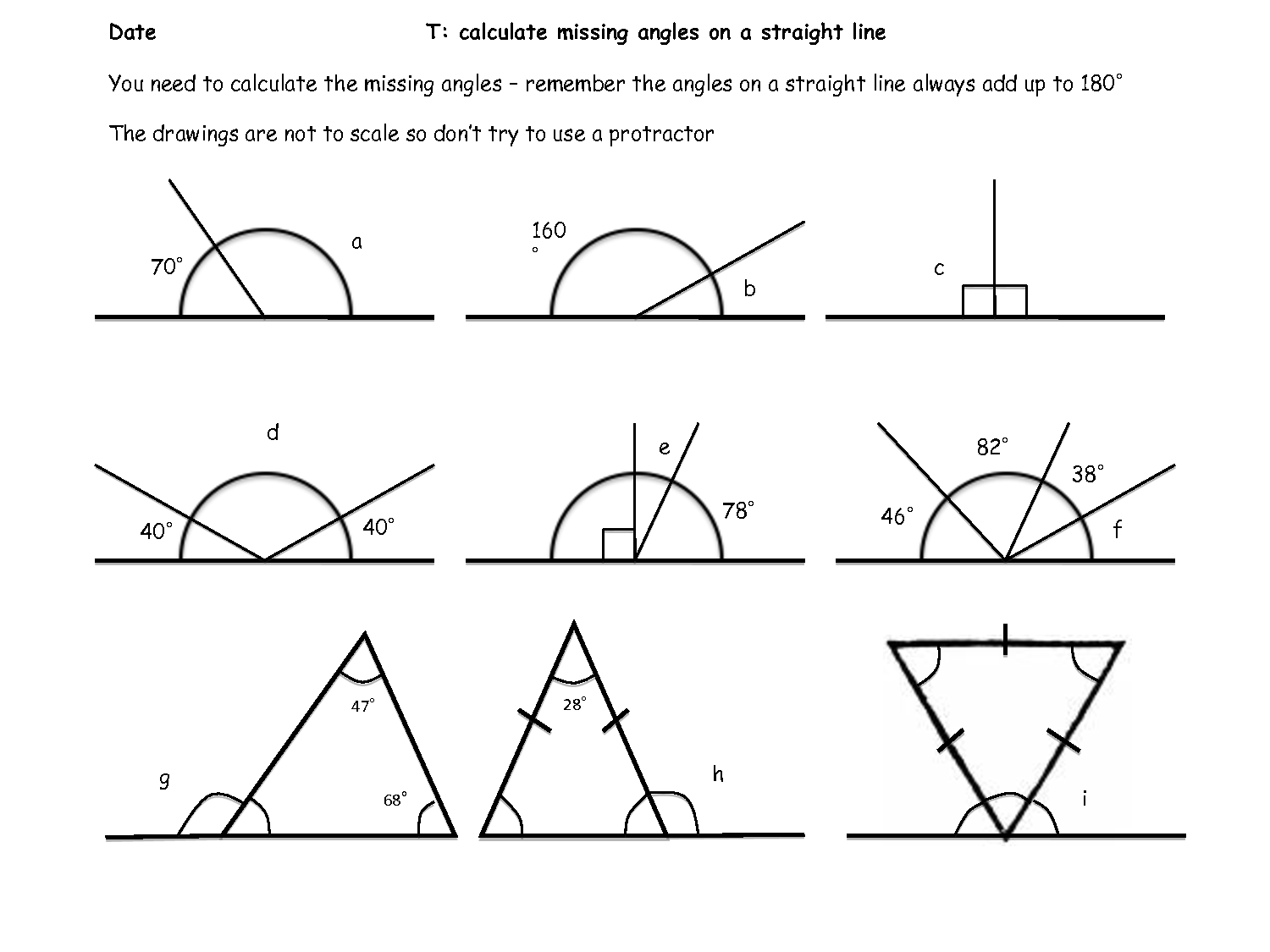 5 Best Images Of Angles Around A Point Worksheet