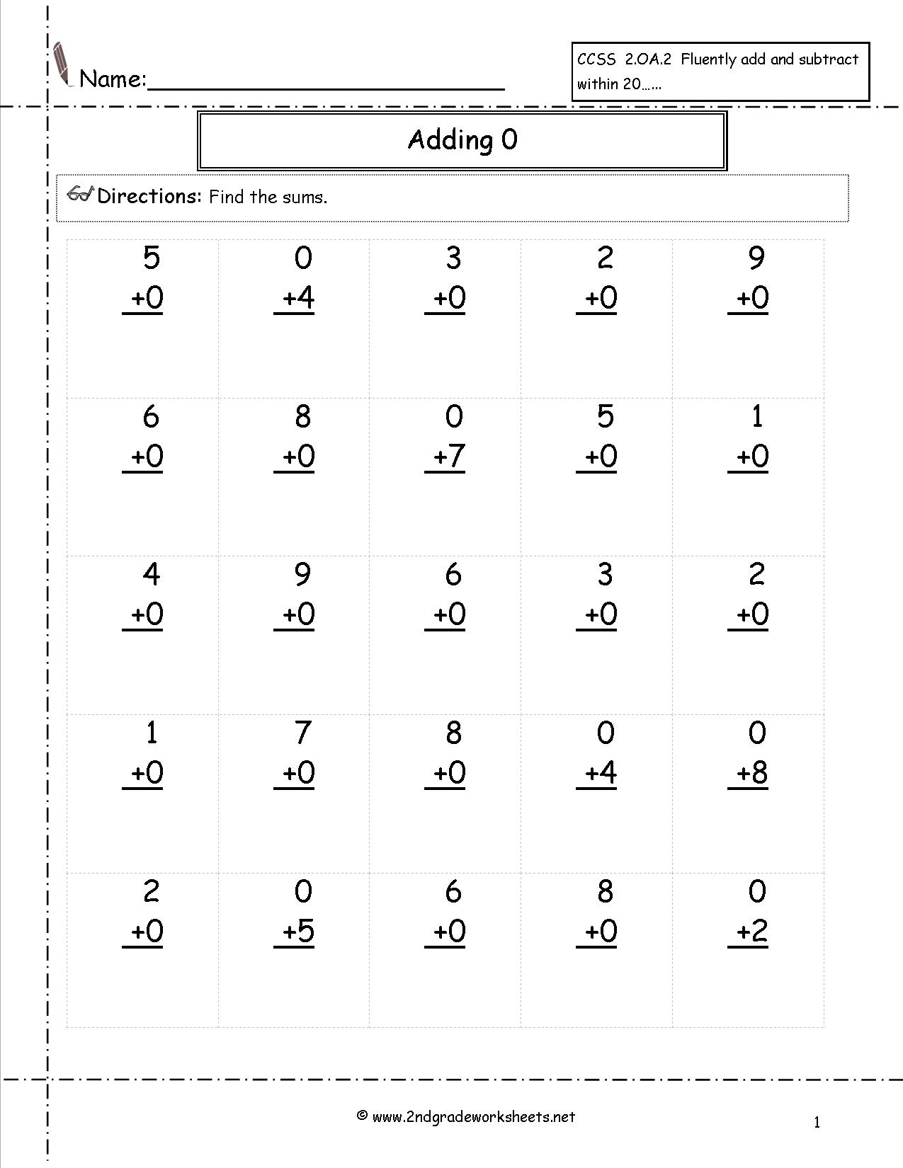 13 Best Images Of Counting Worksheets 1 20