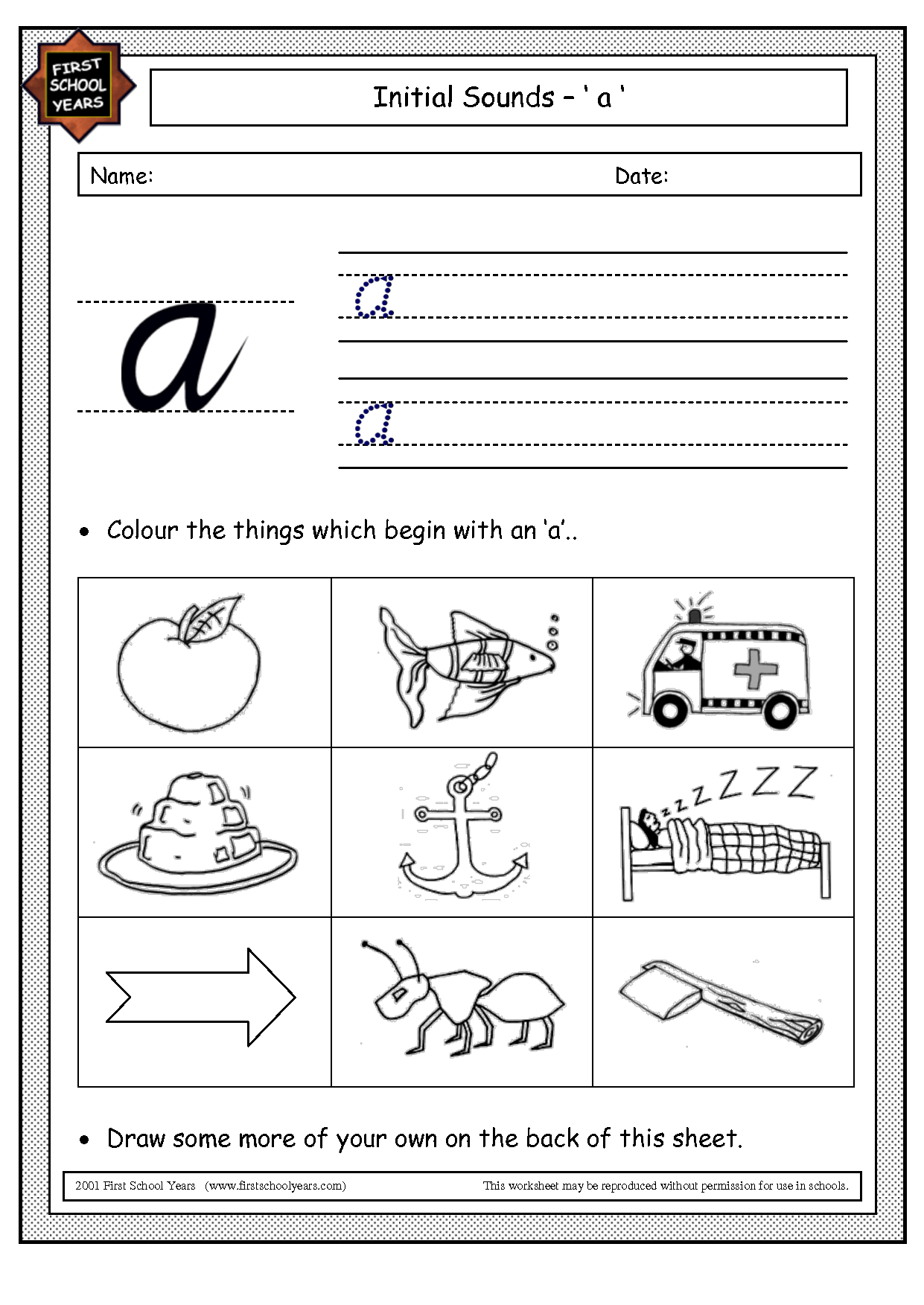 Free Hooked On Phonics Worksheet
