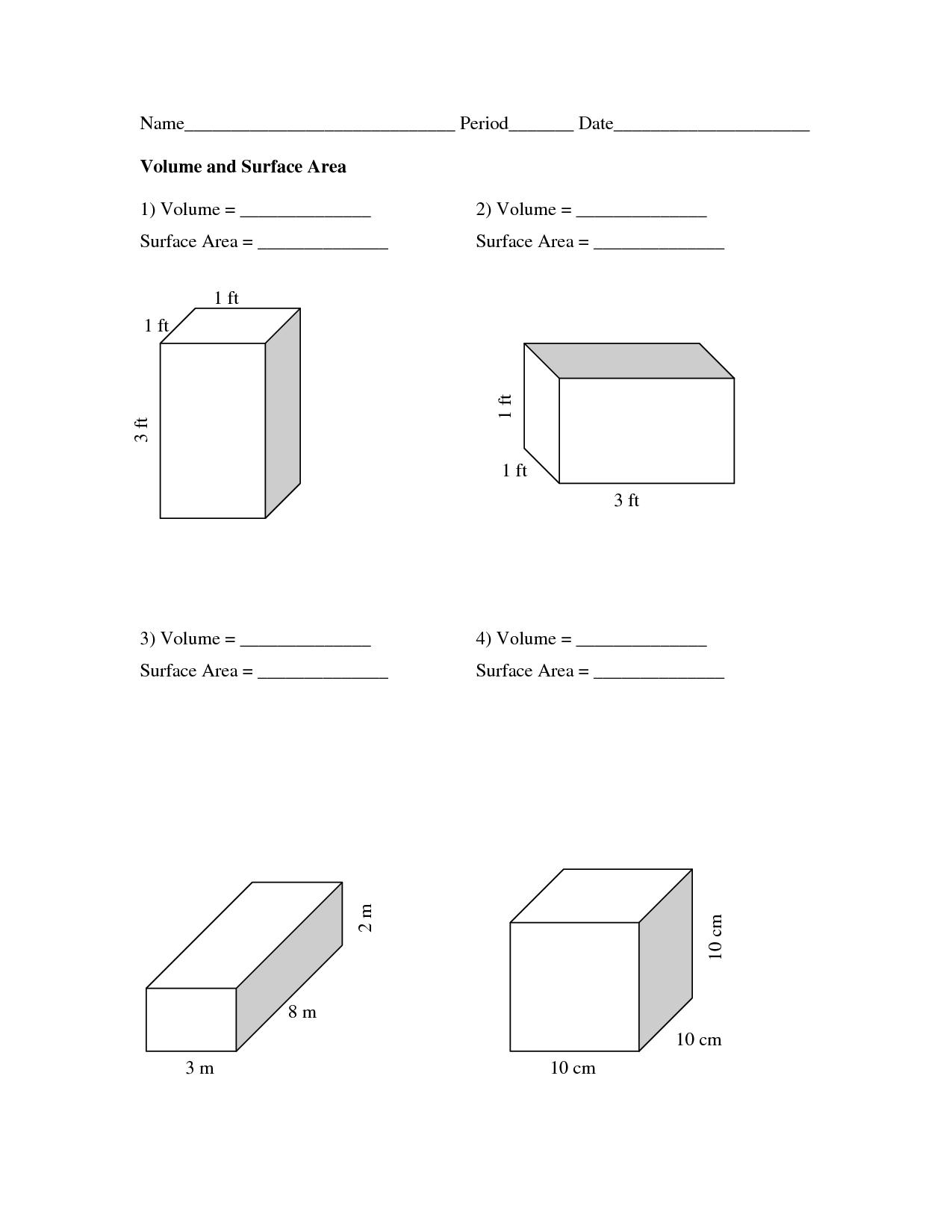 12 Best Images Of Rectangular Prisms Volume Worksheets 5th