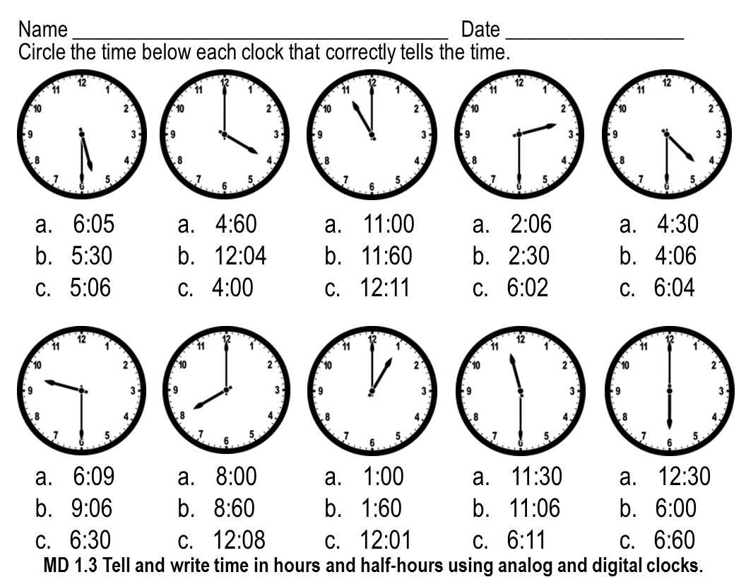 19 Best Images Of The Half Hour Telling Time To Cut And Paste Worksheet