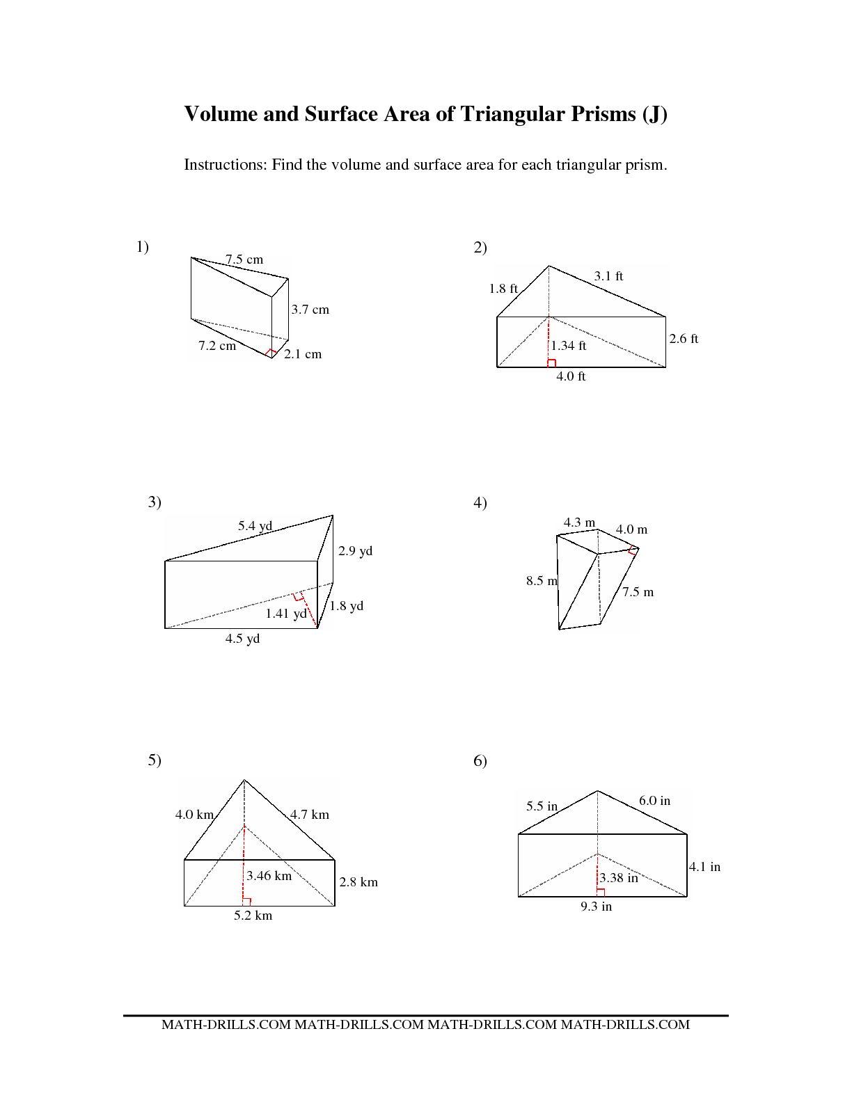 12 Best Images Of Rectangular Prisms Volume Worksheets 5th Grade