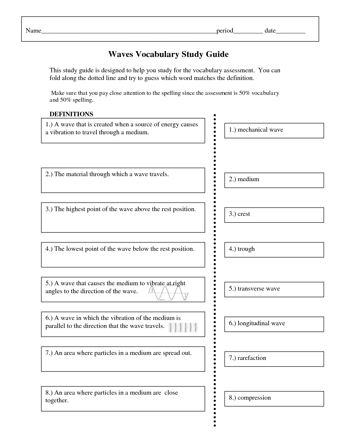 6 Best Images Of Word Definition Worksheets And Answers