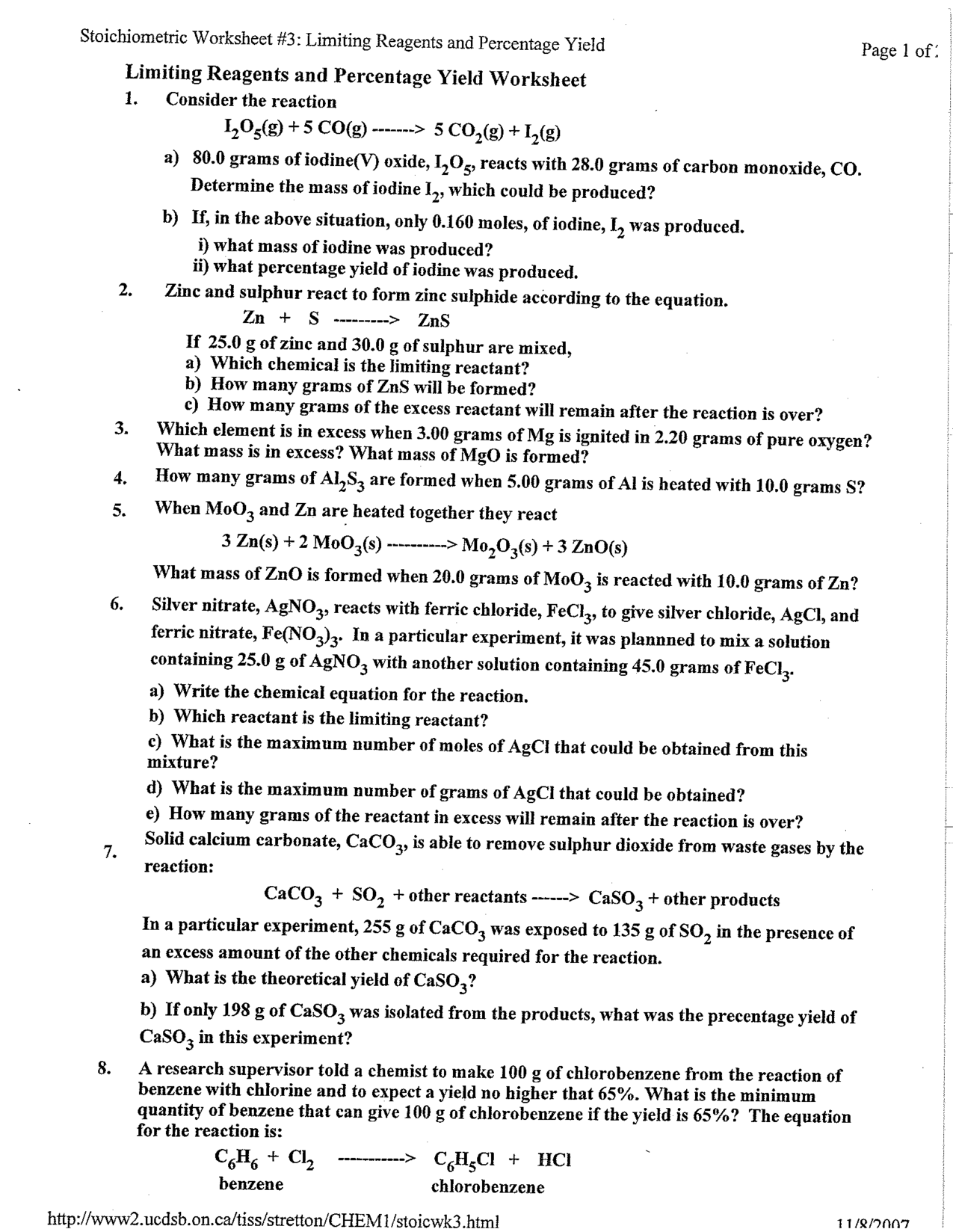 16 Best Images Of Science Worksheets For High School With A Key