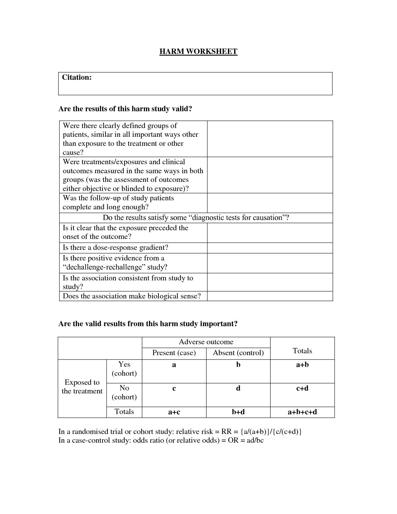 Abc Worksheet Rebt