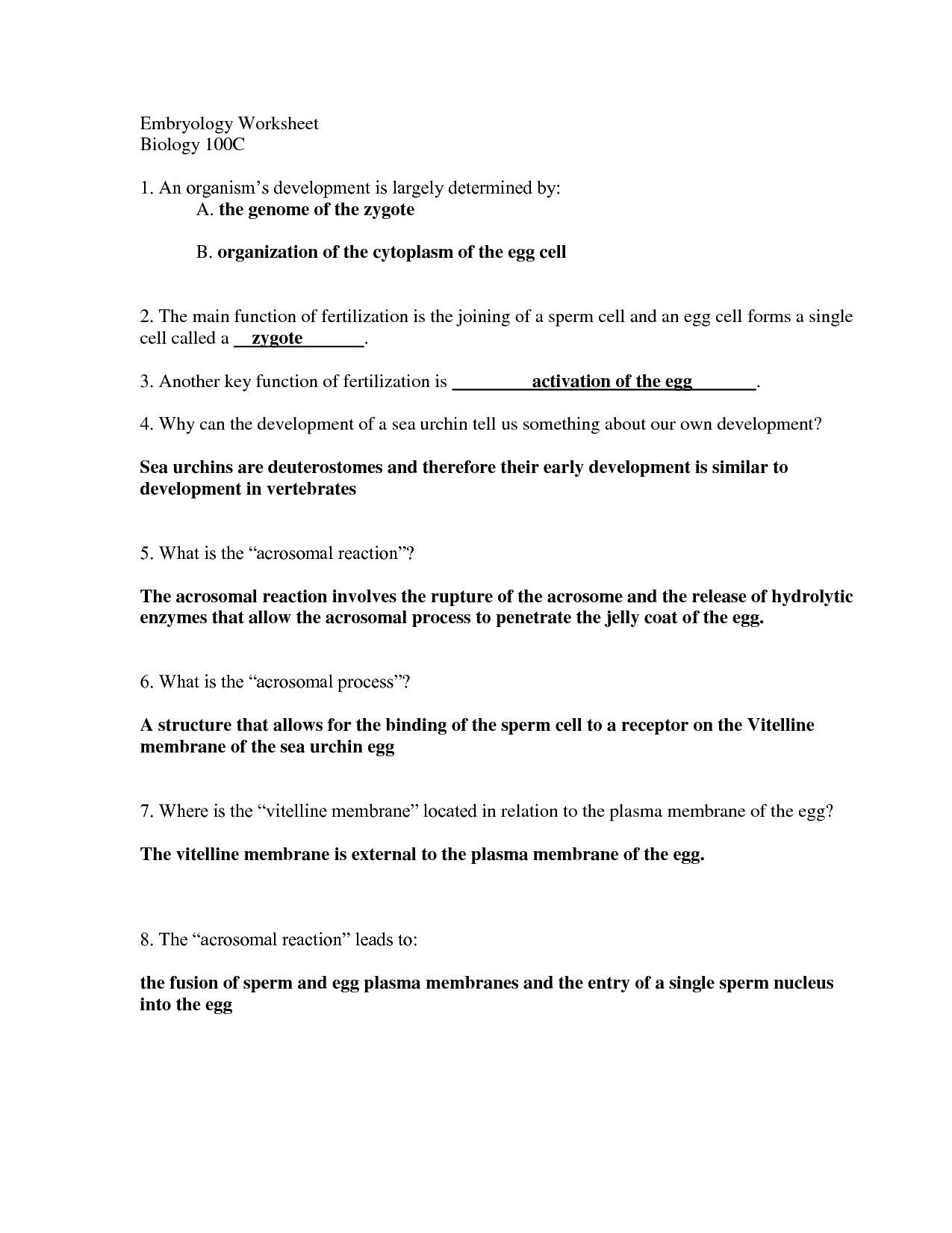 16 Best Images Of Miller And Levine Biology Worksheet Answers