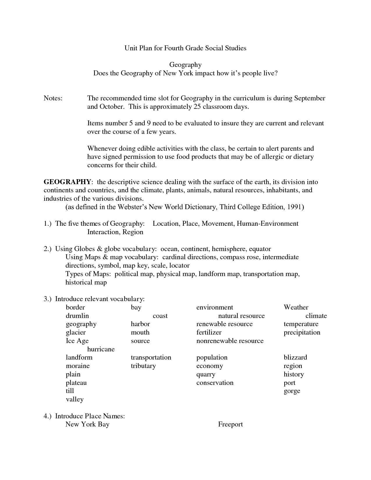 9 Best Images Of 4th Grade Social Stu S Worksheets