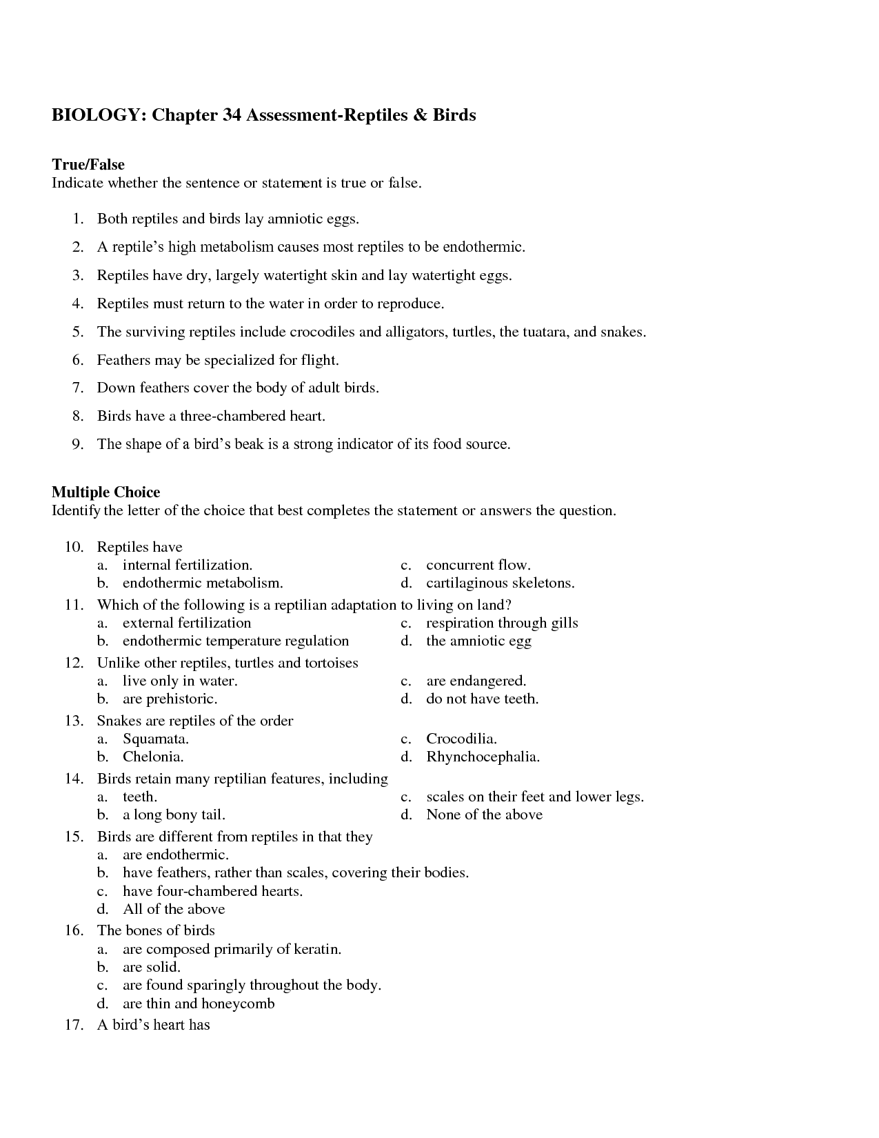 14 Best Images Of Dna And Genes Chapter 11 Worksheet Unit