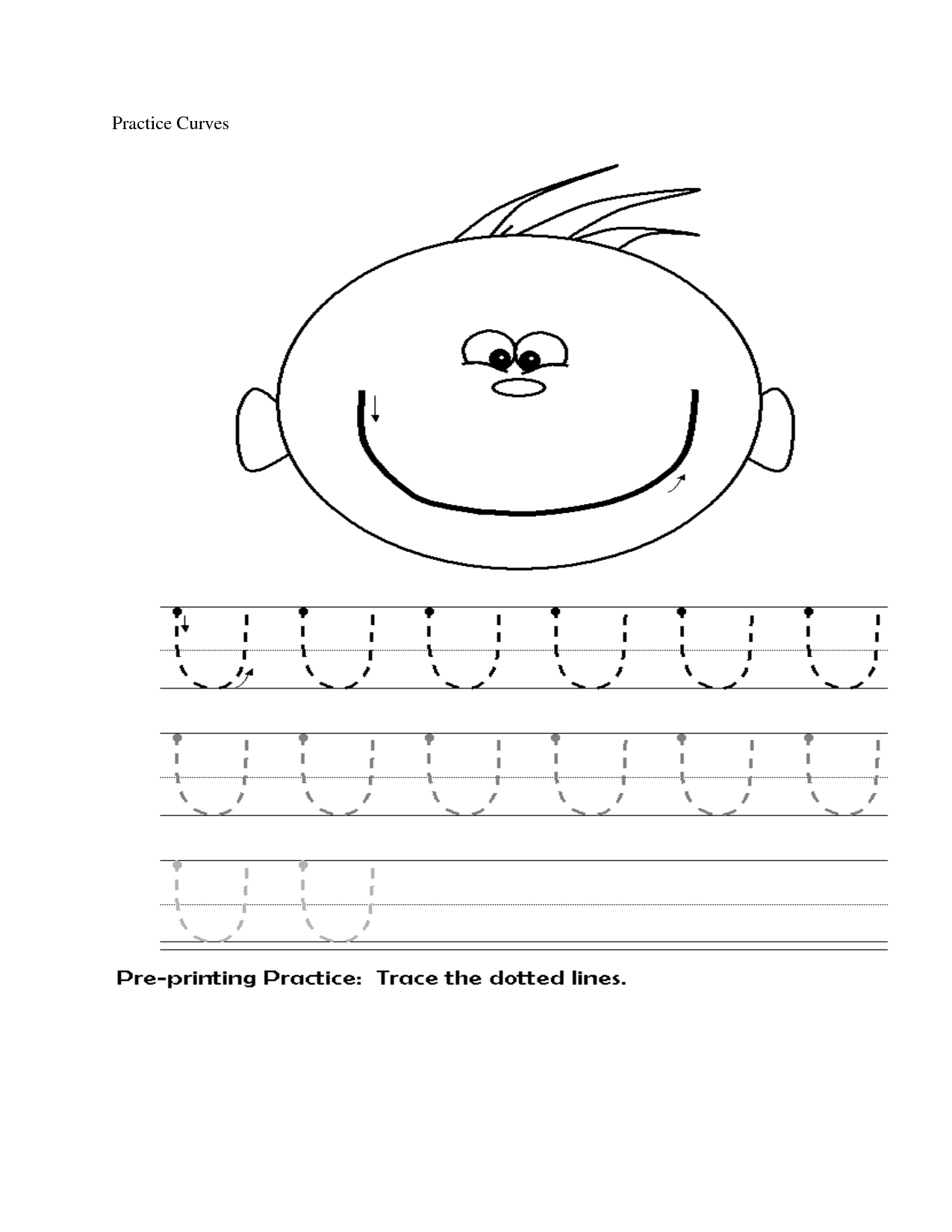 13 Best Images Of U Worksheets For Preschoolers
