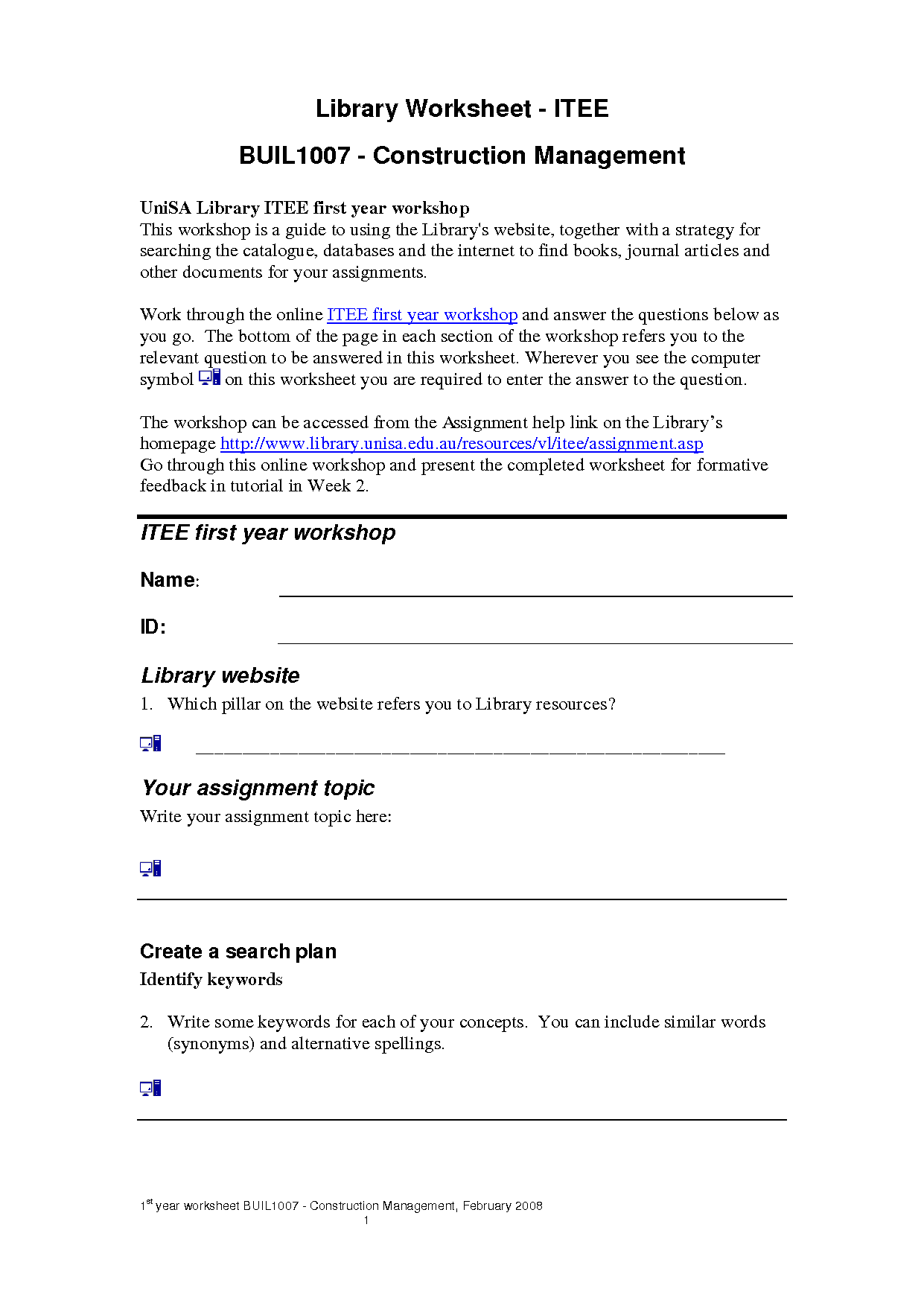 16 Best Images Of Computer History Questions And Answers Worksheet