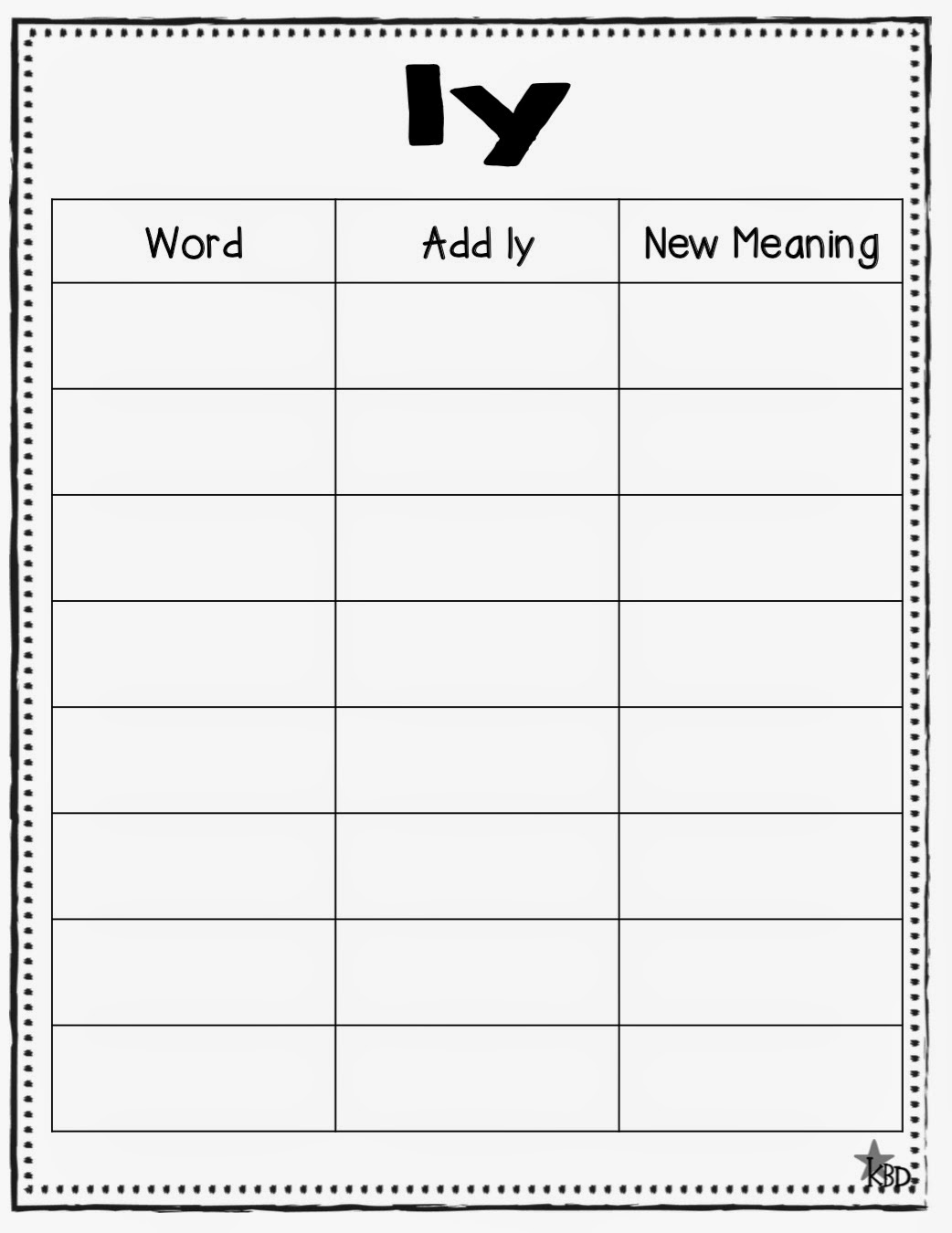 17 Best Images Of Words To Add Endings Worksheet