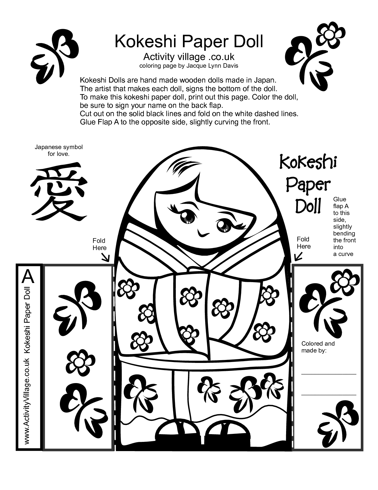 8 Best Images Of Printable Japanese Worksheets