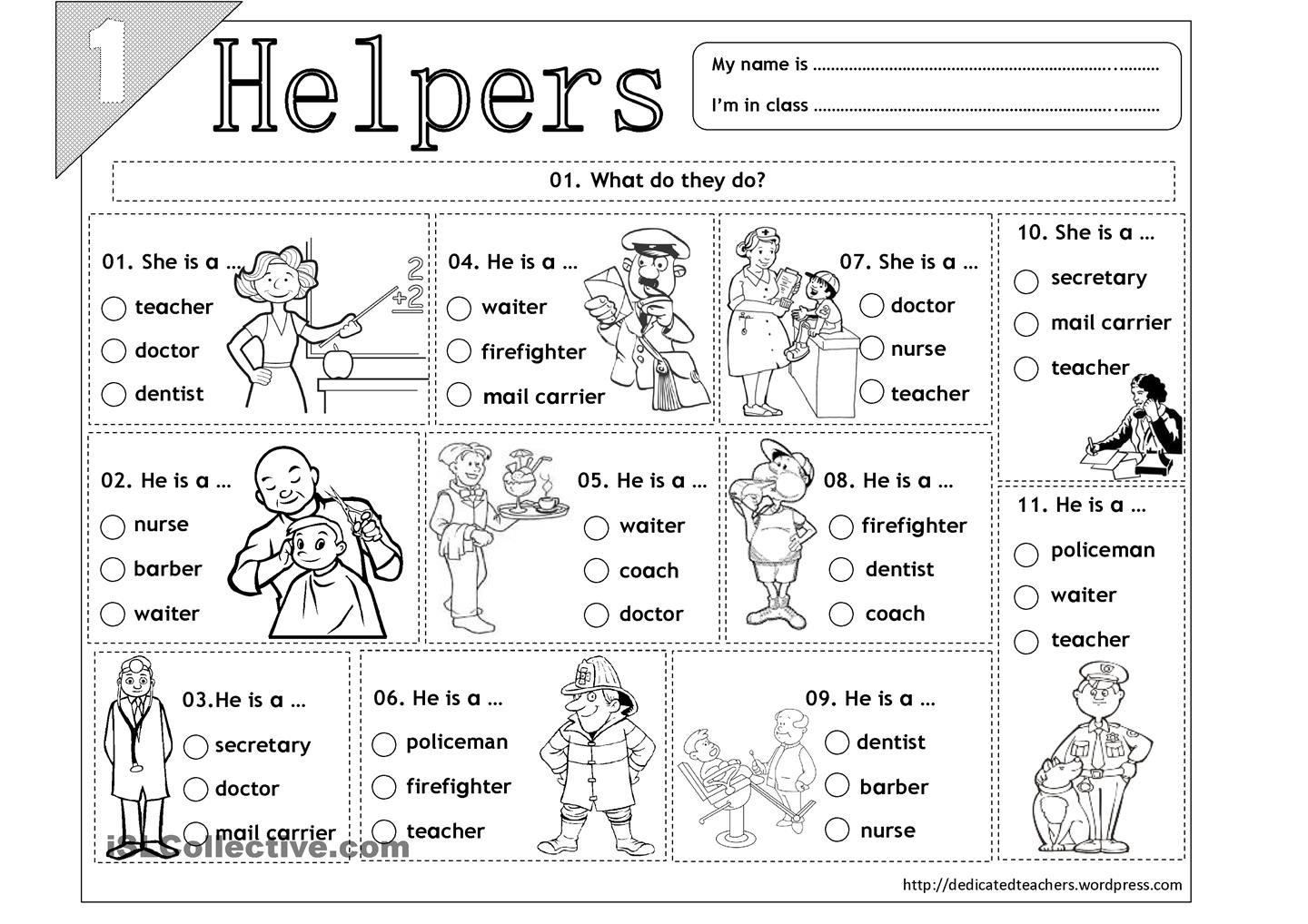 15 Best Images Of Free Printable Worksheets Community