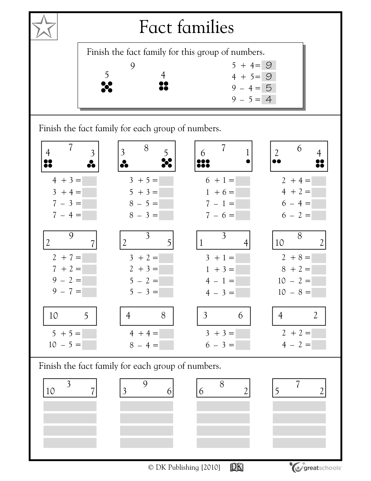 Easy 4th Grade Math Worksheet