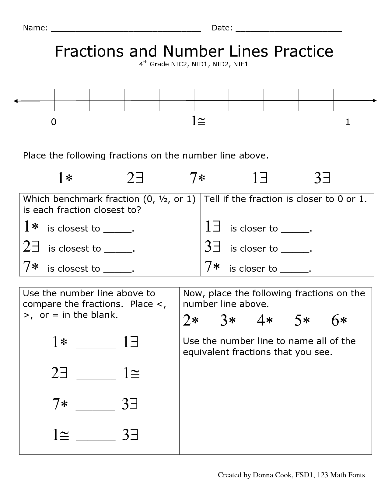 Micrometer Worksheet