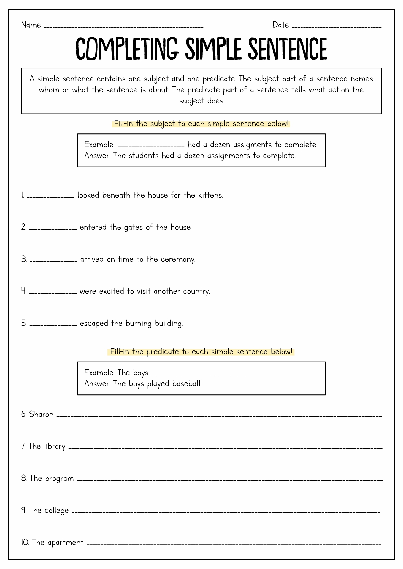15 Best Images Of Complex Sentence Worksheets 7th Grade