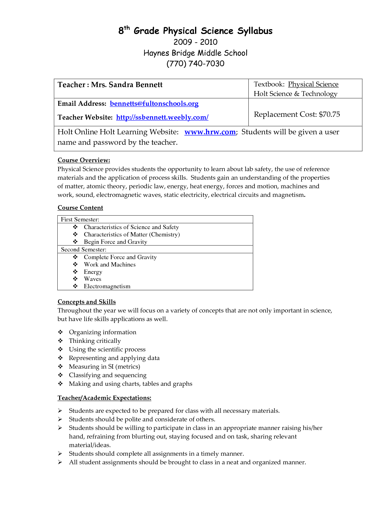 Building 9th Grade Science Worksheet