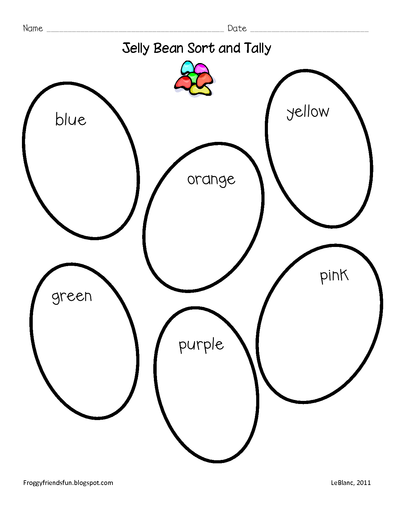 14 Best Images Of Jelly Bean Worksheets