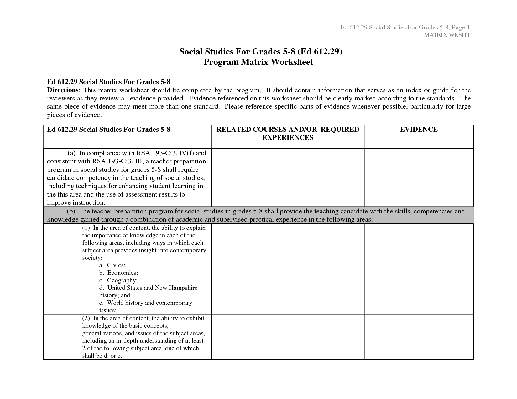 10 Best Images Of Vocabulary Matrix Worksheet