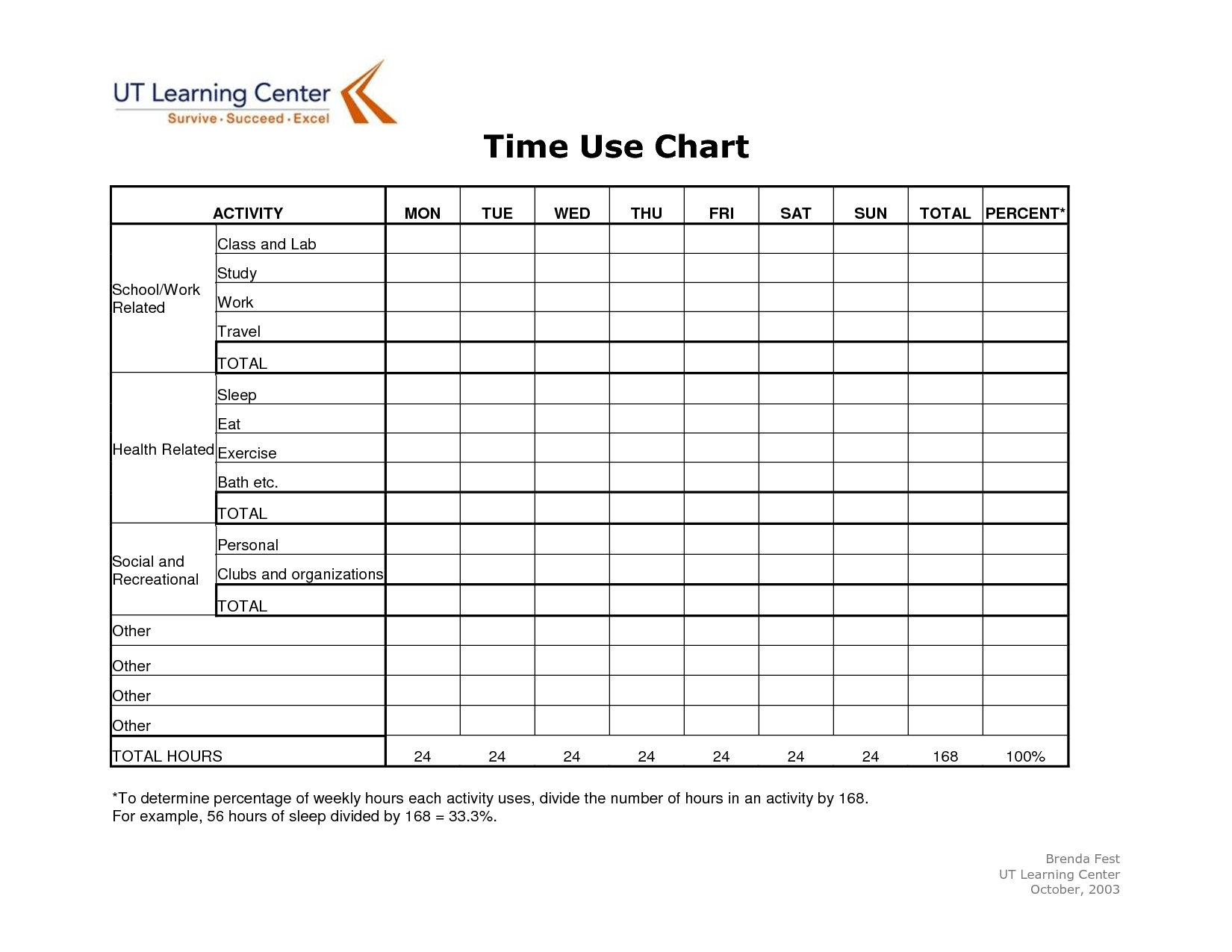 16 Best Images Of Time Management Worksheets For High