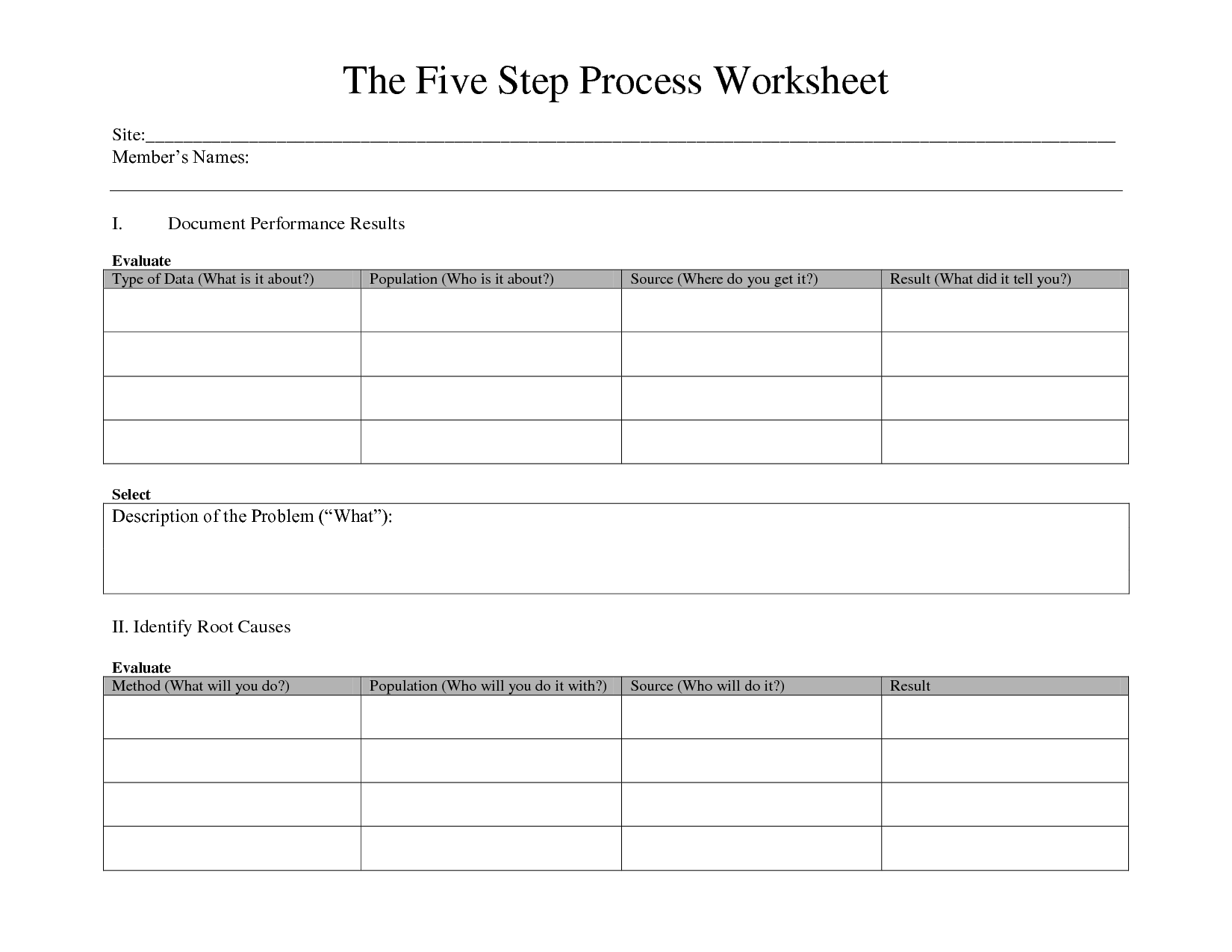 12 Best Images Of Writing Process Worksheets
