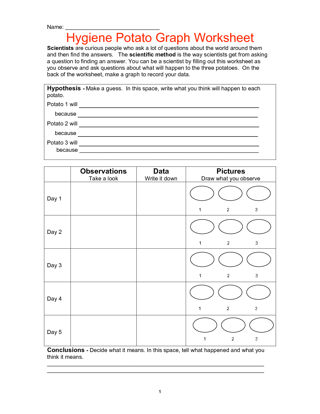 19 Best Images Of Personal Hygiene Worksheets For Adults