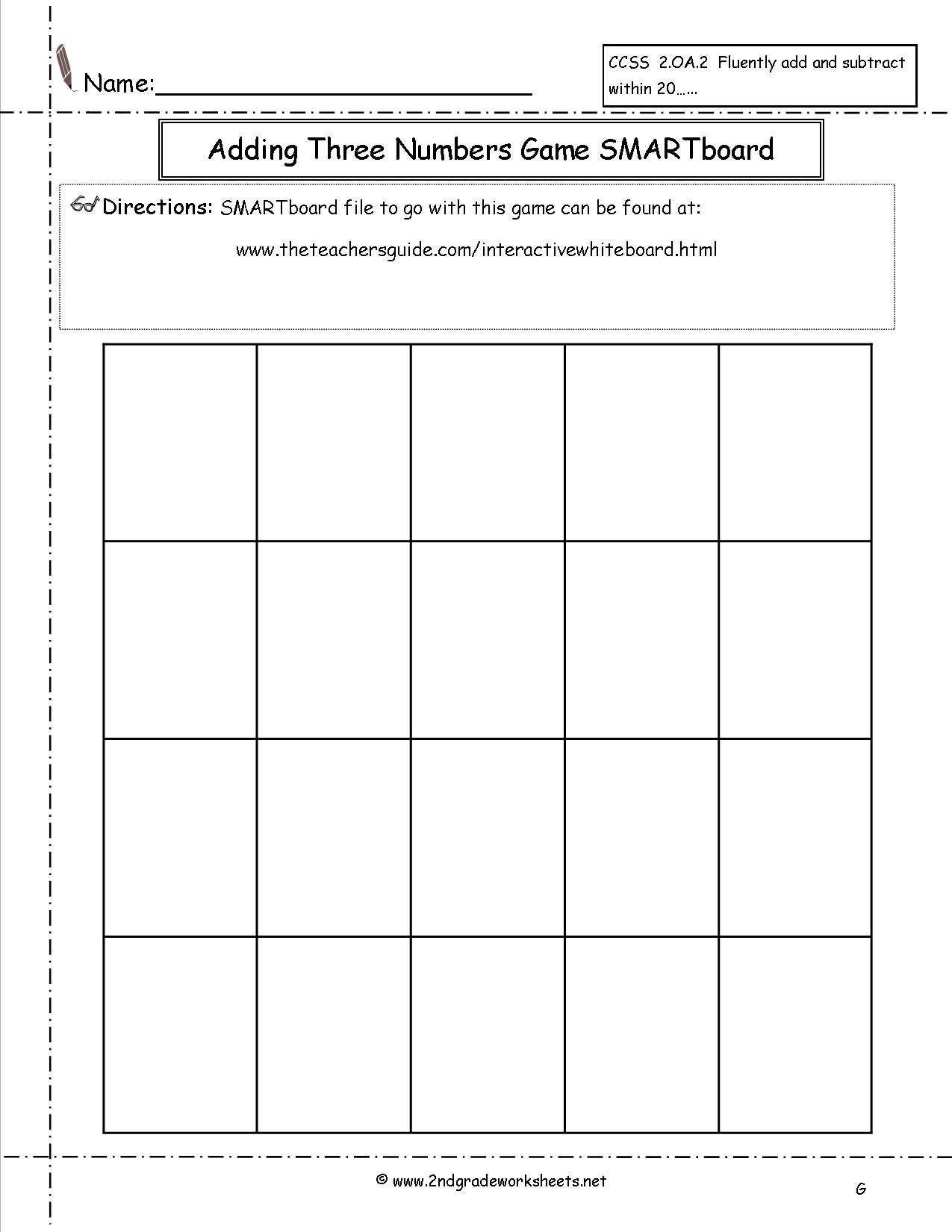 13 Best Images Of Reading Dice Game Worksheet