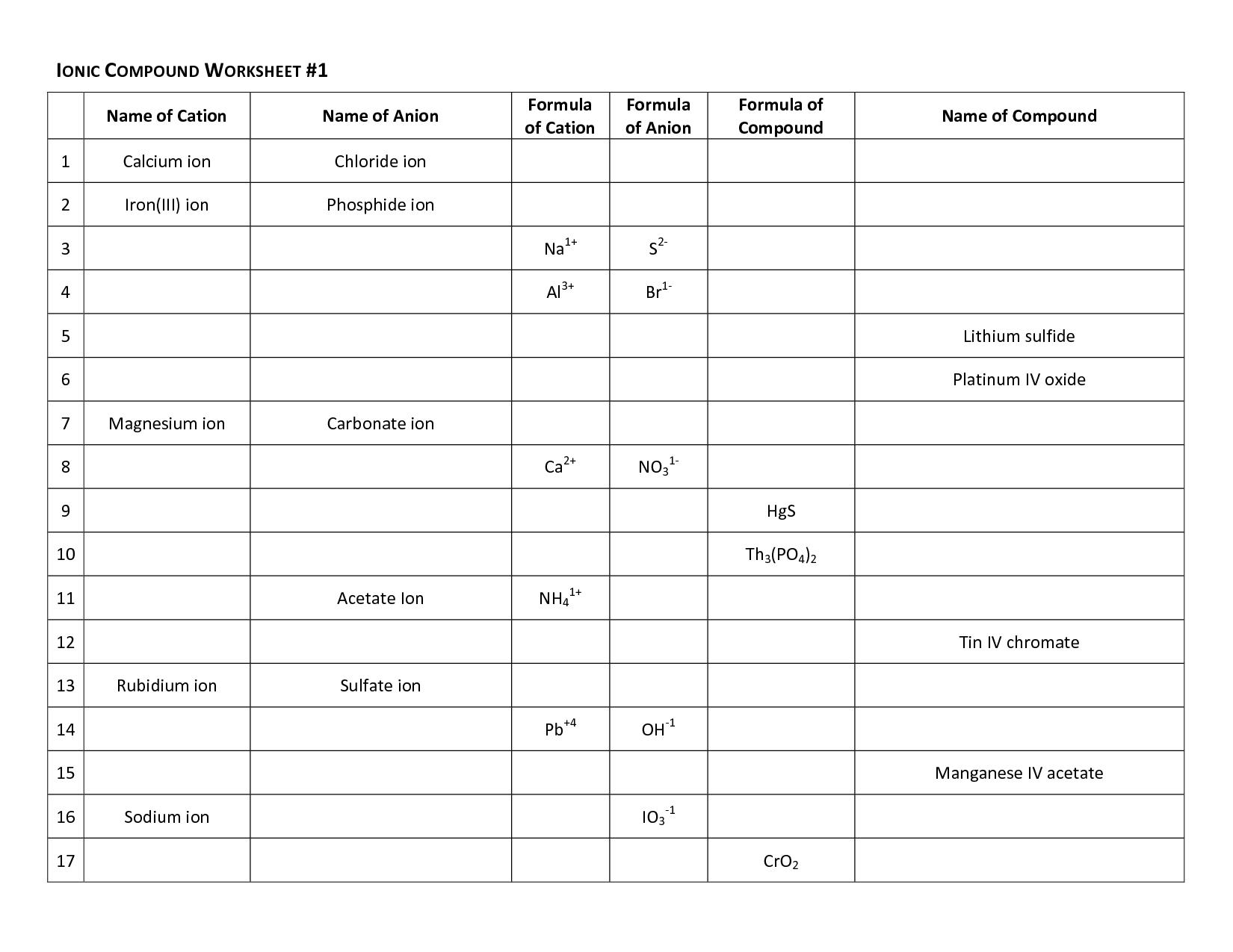 Molecular Geometry Worksheet Answers Pogil