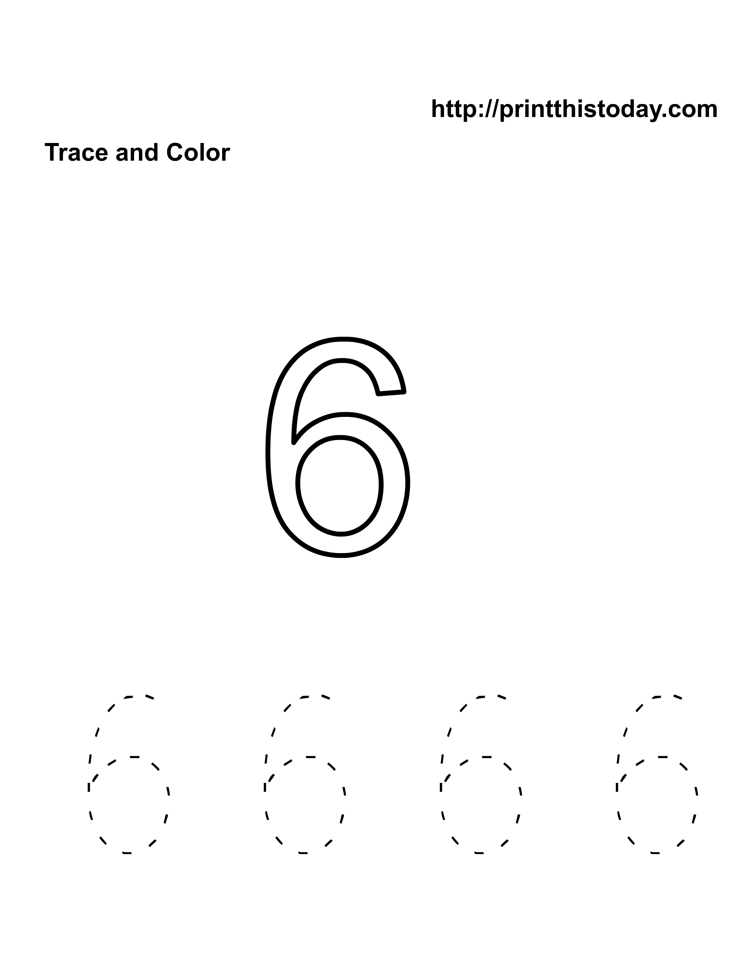 Number Worksheet Category Page 3