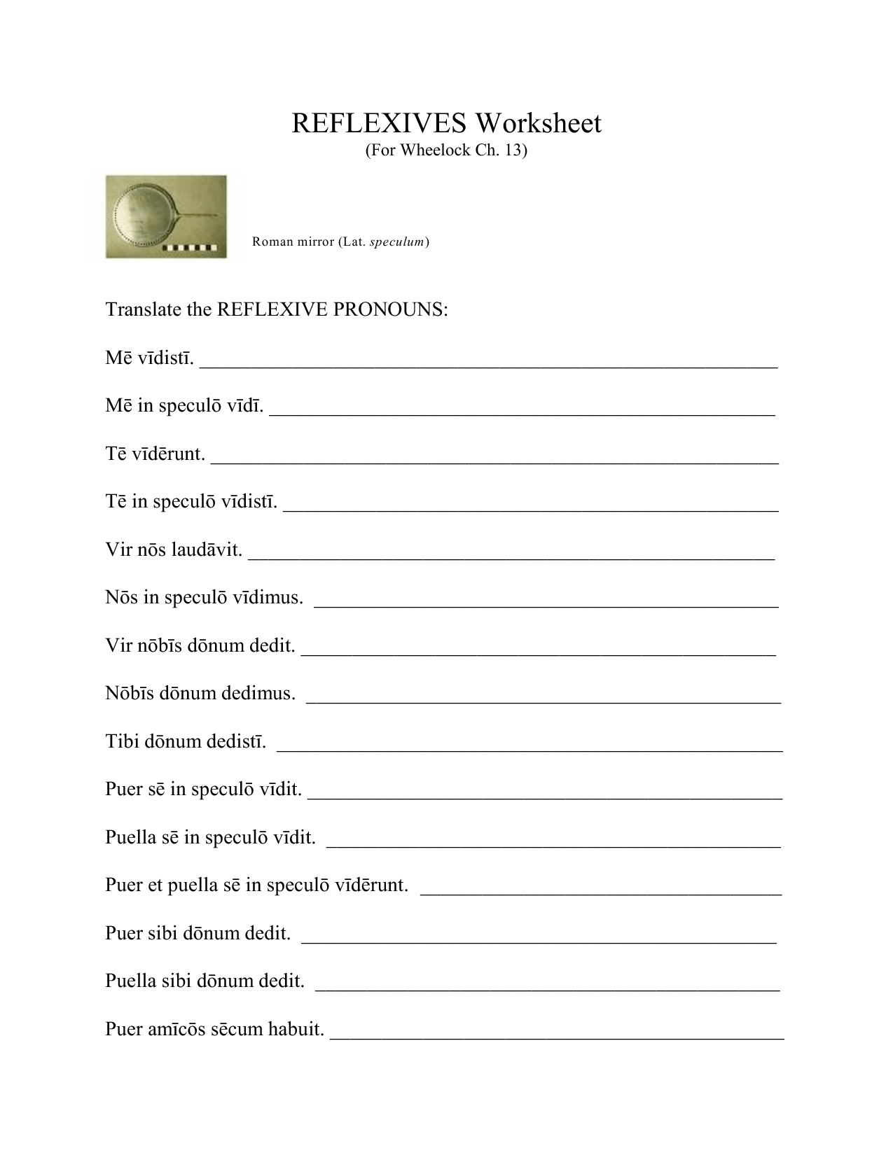 16 Best Images Of Reflexive Pronouns 2nd Grade Worksheets