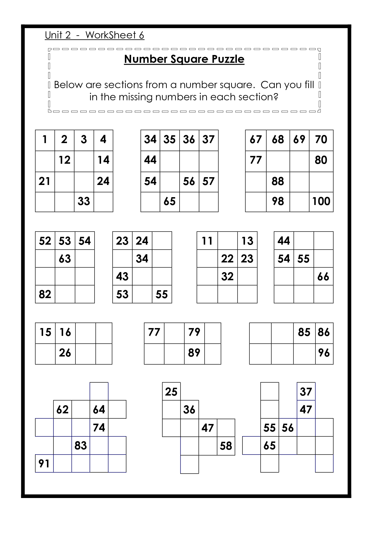 Other Worksheet Category Page 766