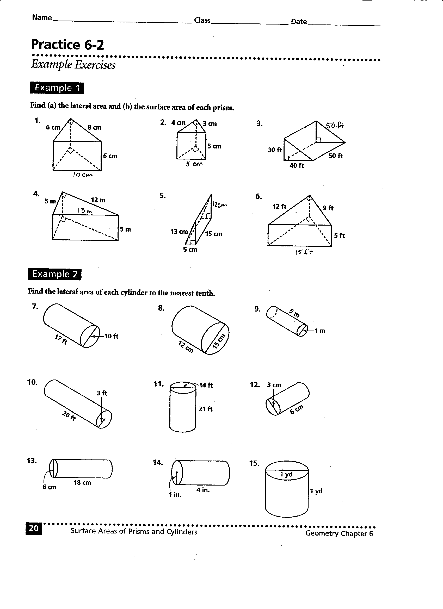 14 Best Images Of Cubes And Cylinders Worksheet