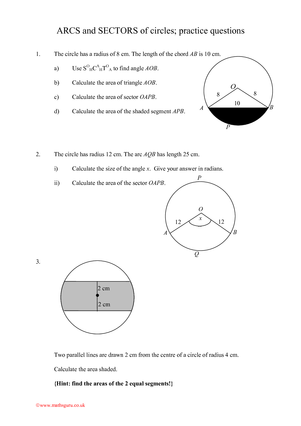 6th Grade Math Worksheets Area Of Circle 6th Best Free