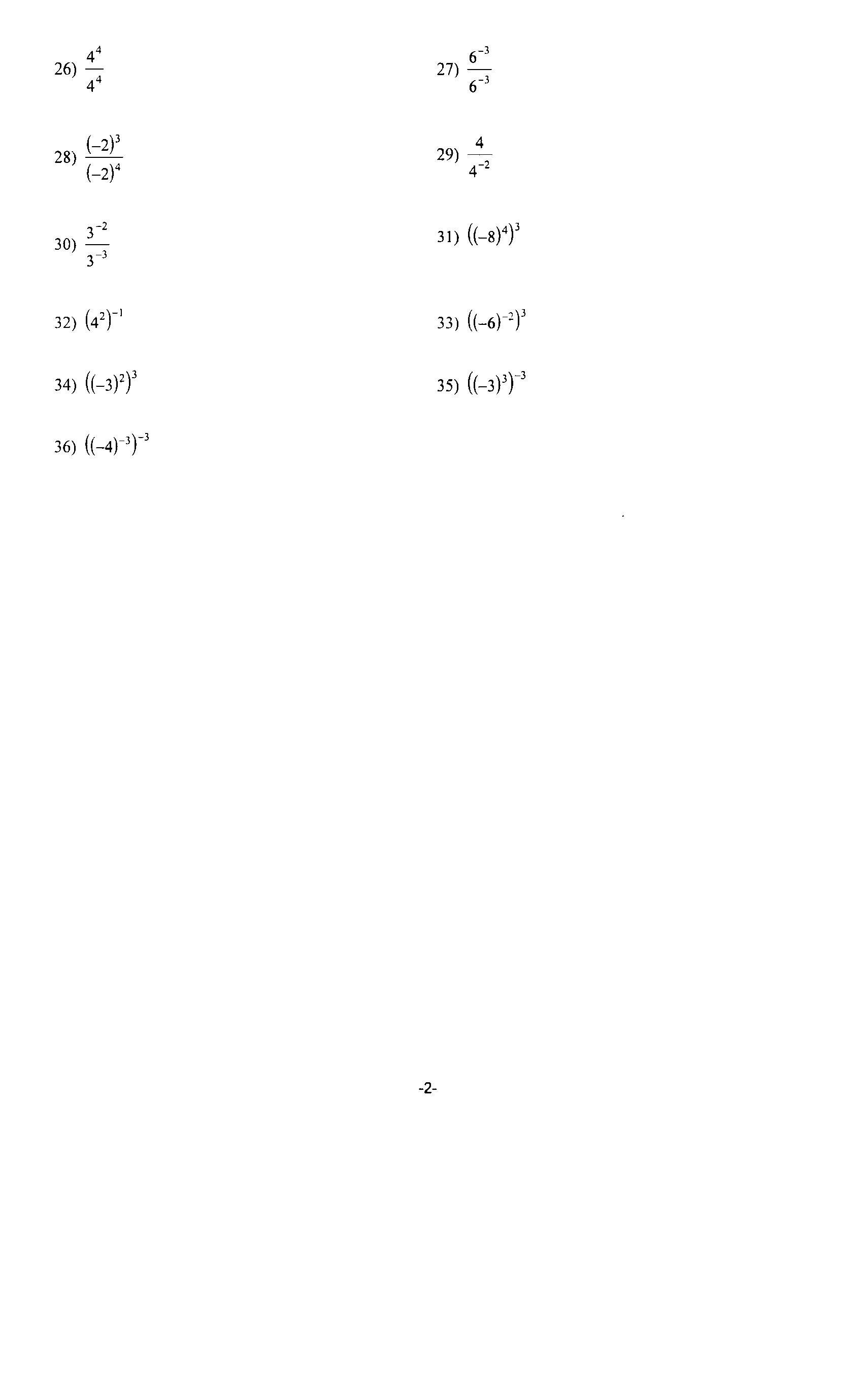 19 Best Images Of Estimating Non Perfect Squares Worksheet