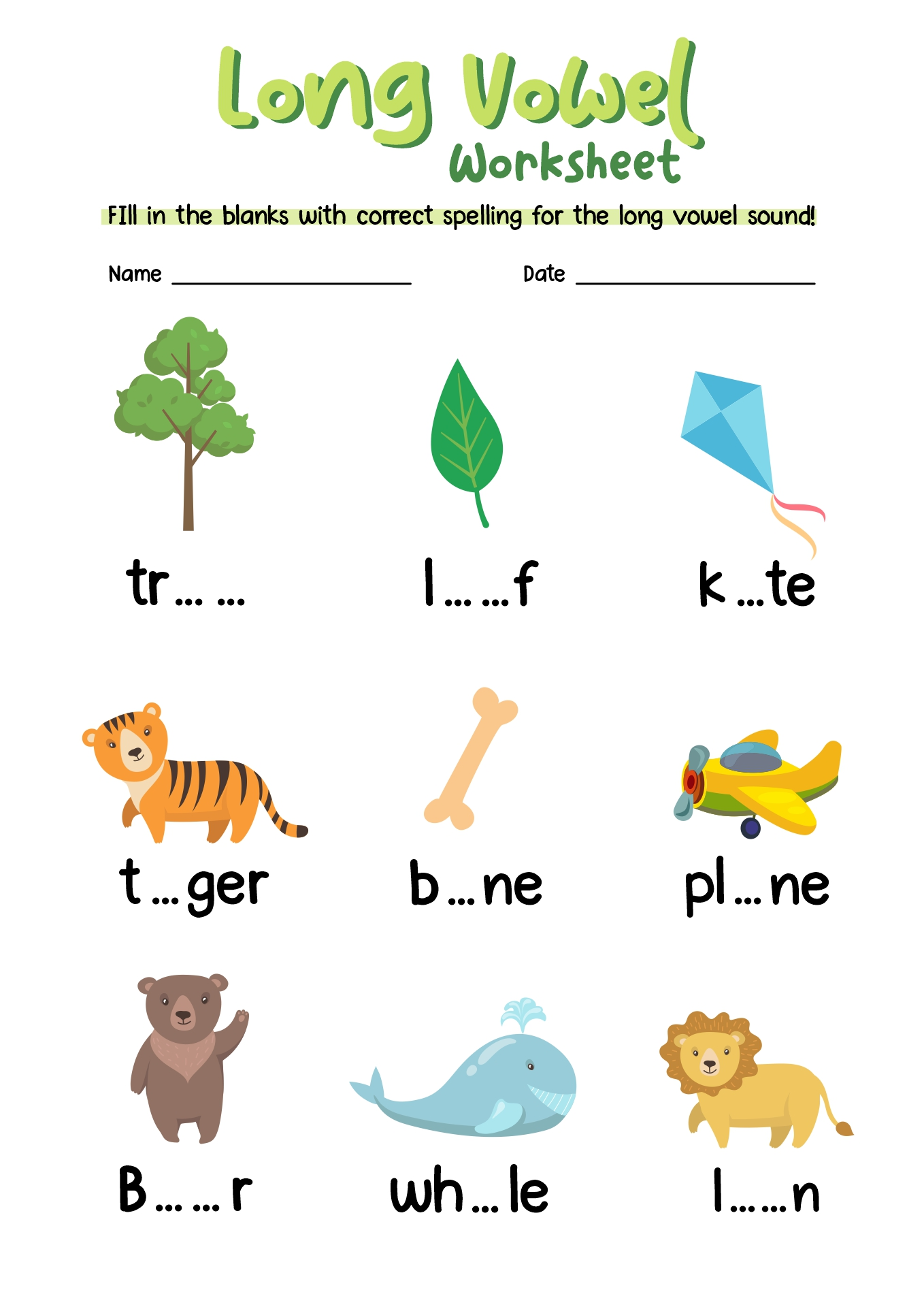 Vowel Short O Worksheets