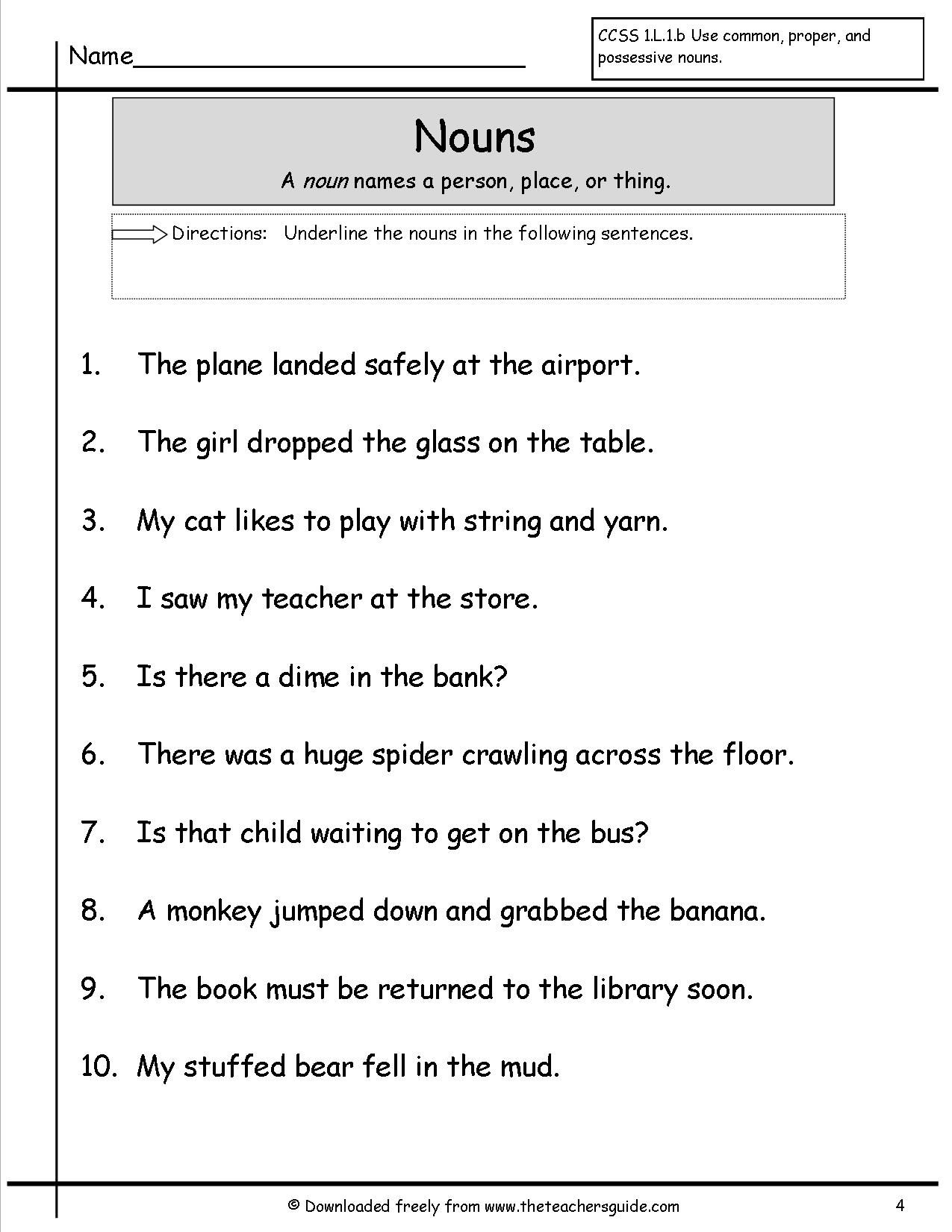 15 Best Images Of Adjectives Sentences Worksheet