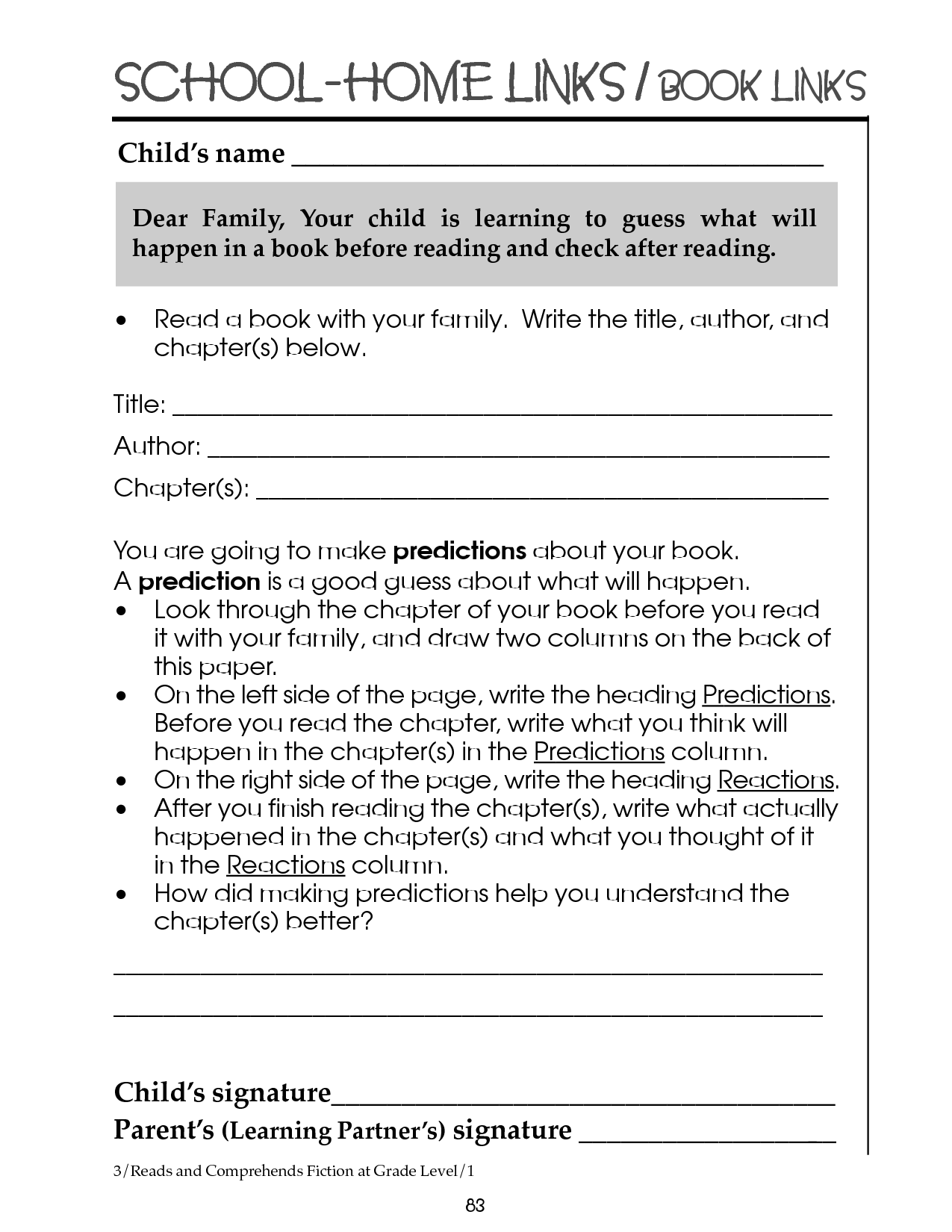 15 Best Images Of Reading Worksheets Grade 3