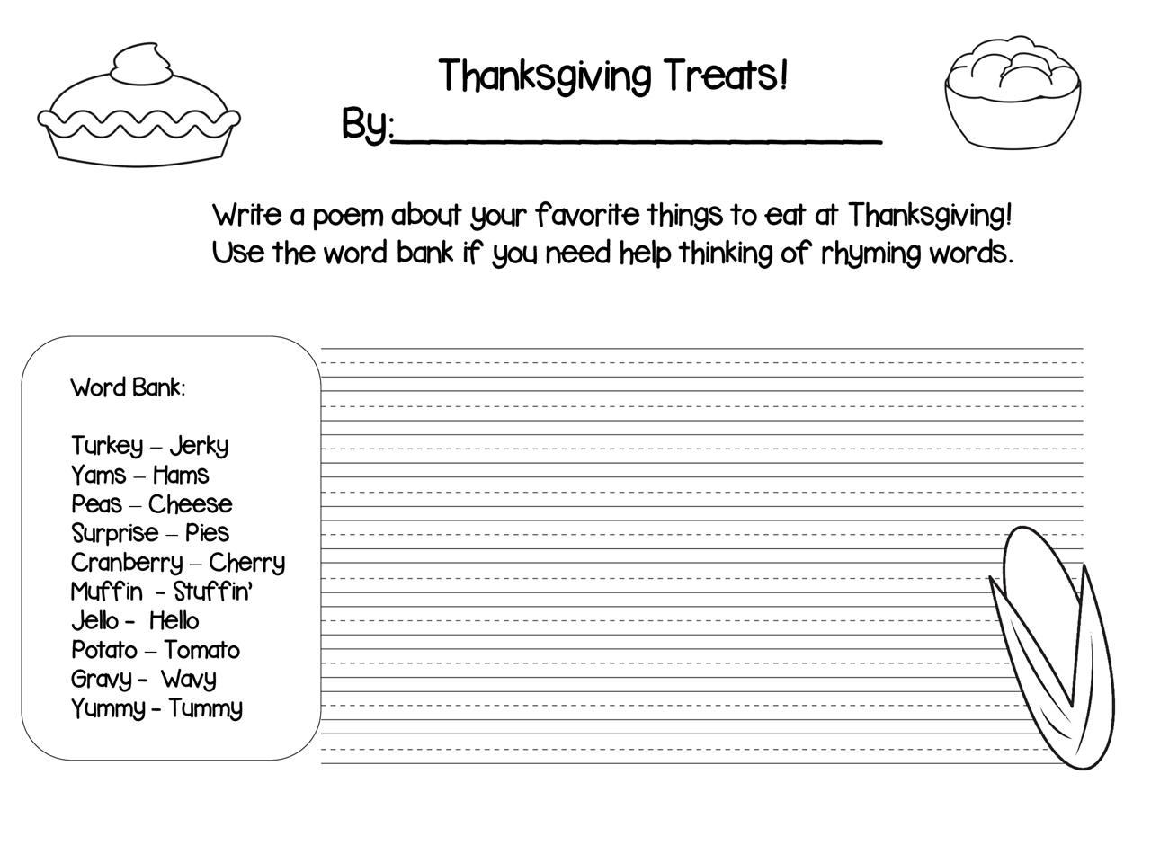 11 Best Images Of Thanksgiving Math Worksheets For Third