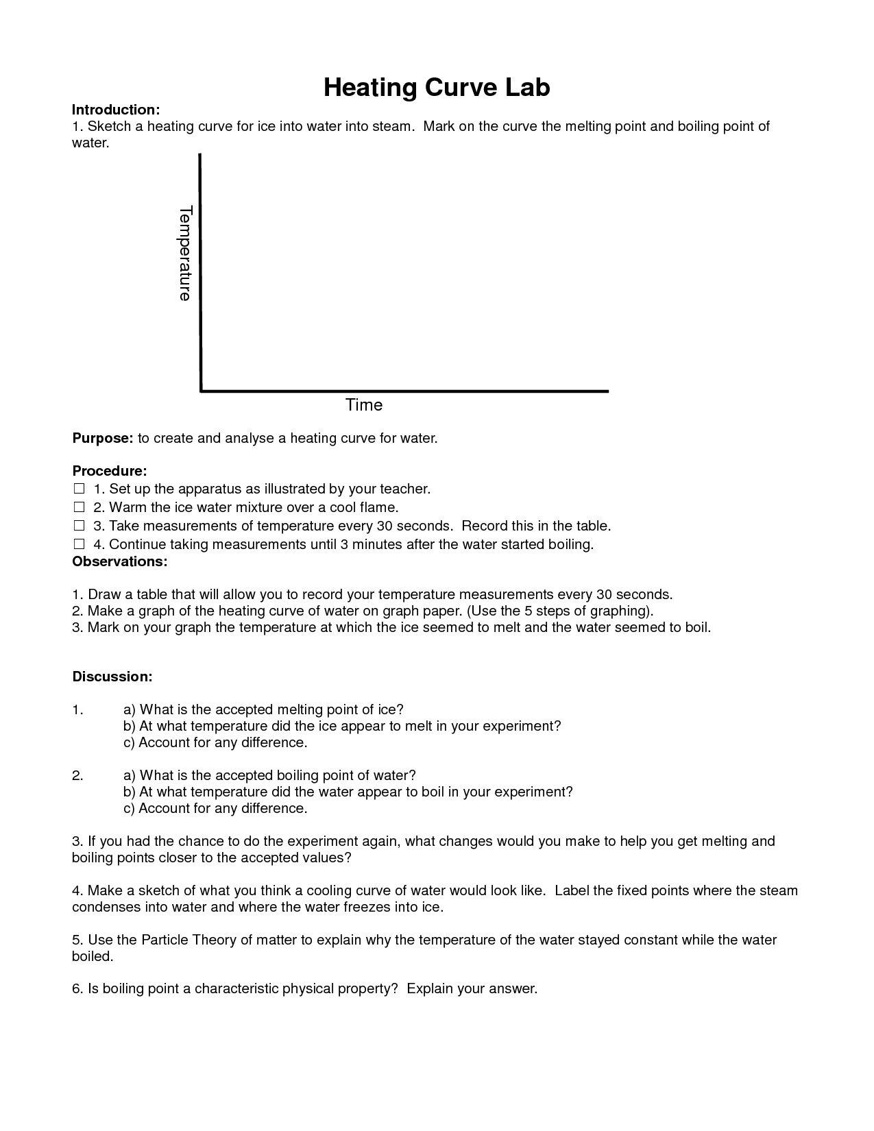 14 Best Images Of And Specific Heat Capacity Worksheet