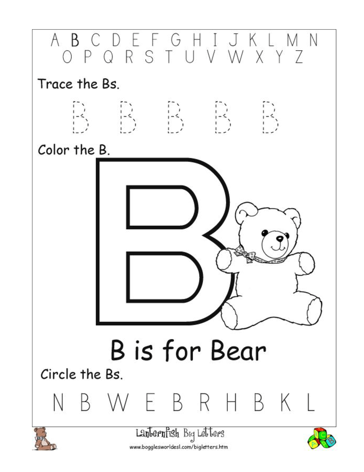 15 Best Images Of Letter J Preschool Worksheets Alphabet