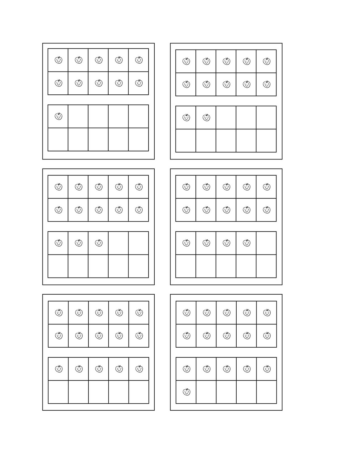 16 Best Images Of Adding Ten Frames Worksheets